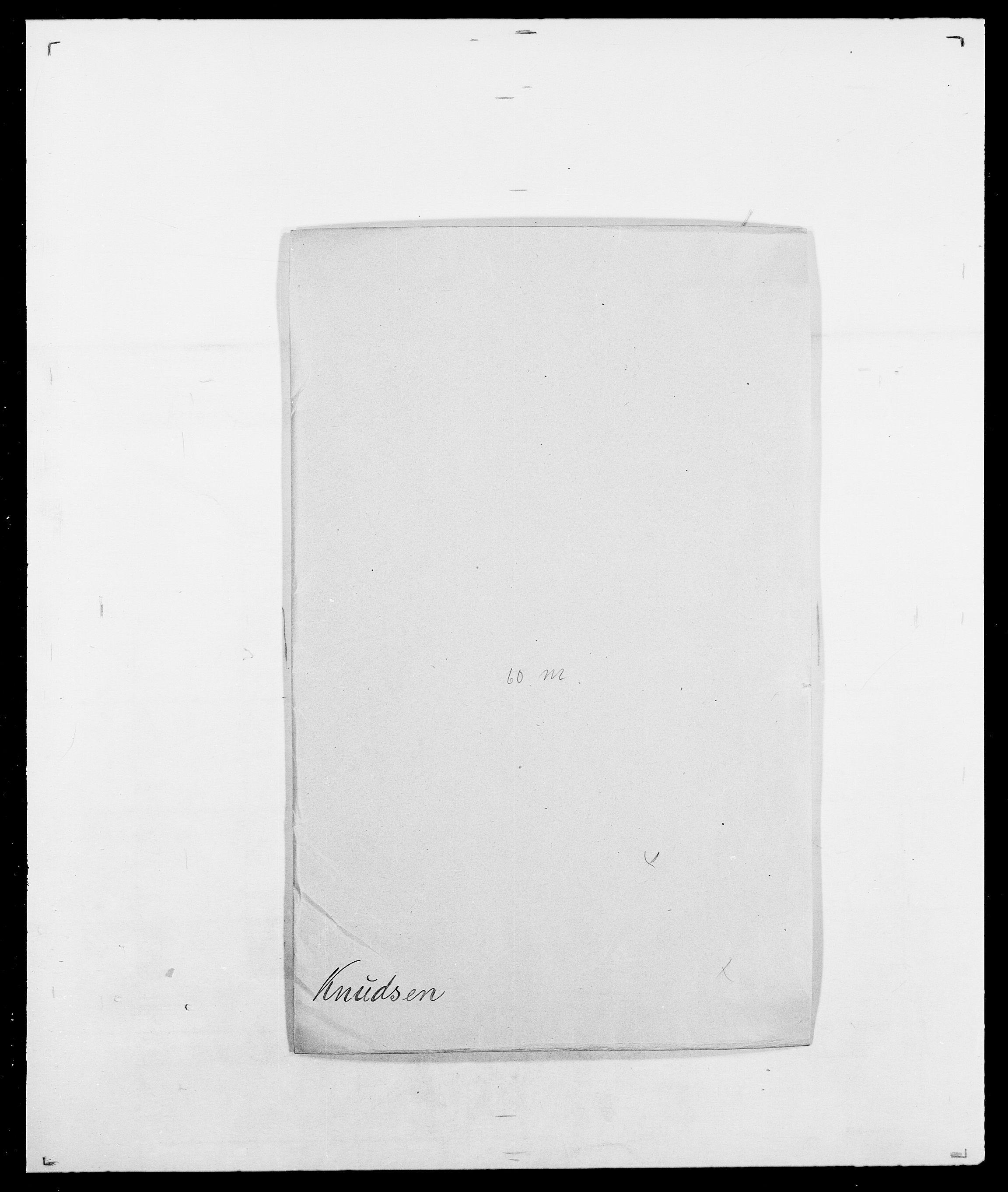 SAO, Delgobe, Charles Antoine - samling, D/Da/L0021: Klagenberg - Kristoft, s. 307