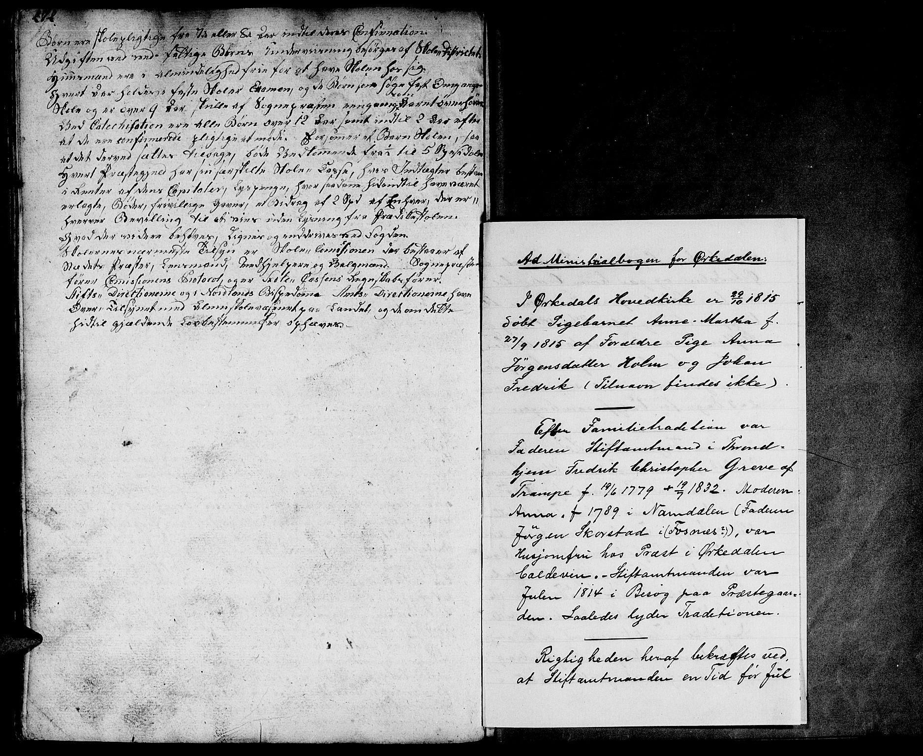 SAT, Ministerialprotokoller, klokkerbøker og fødselsregistre - Sør-Trøndelag, 668/L0815: Klokkerbok nr. 668C04, 1791-1815, s. 272-273
