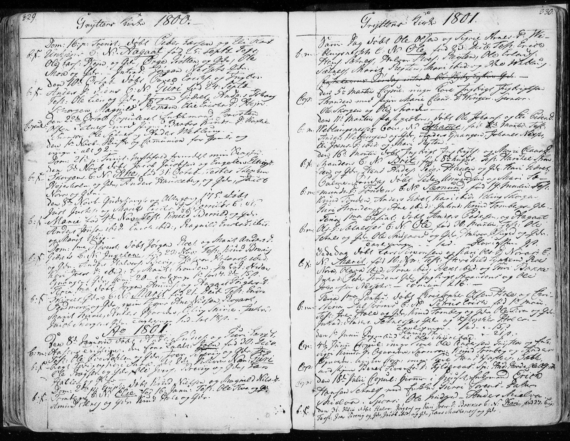 SAT, Ministerialprotokoller, klokkerbøker og fødselsregistre - Møre og Romsdal, 544/L0569: Ministerialbok nr. 544A02, 1764-1806, s. 329-330