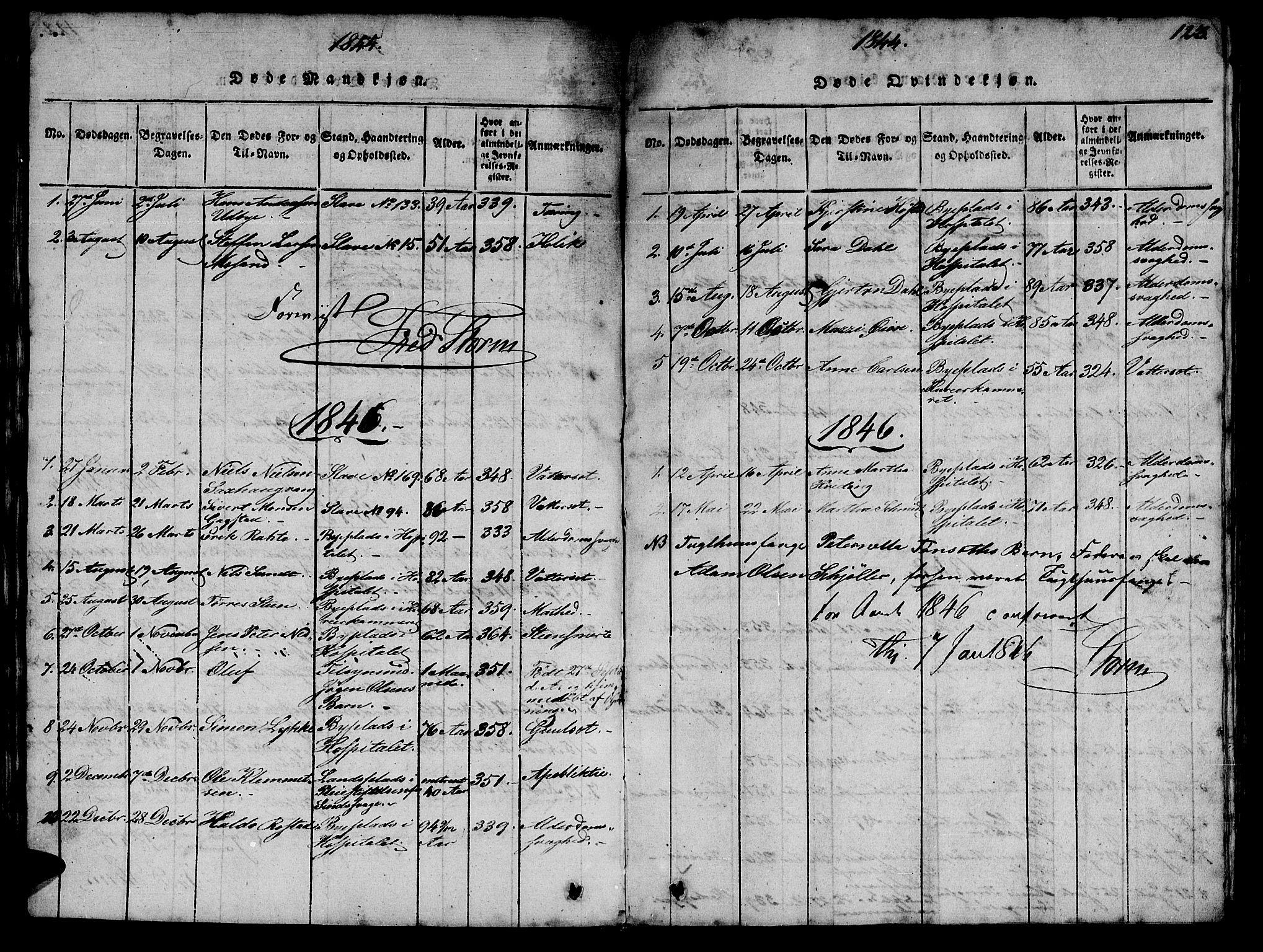 SAT, Ministerialprotokoller, klokkerbøker og fødselsregistre - Sør-Trøndelag, 623/L0478: Klokkerbok nr. 623C01, 1815-1873, s. 123