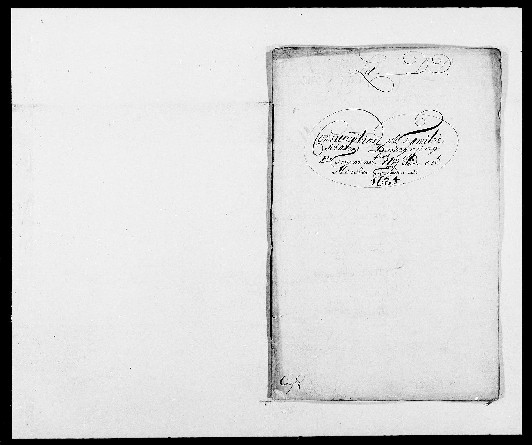 RA, Rentekammeret inntil 1814, Reviderte regnskaper, Fogderegnskap, R01/L0005: Fogderegnskap Idd og Marker , 1682-1684, s. 174