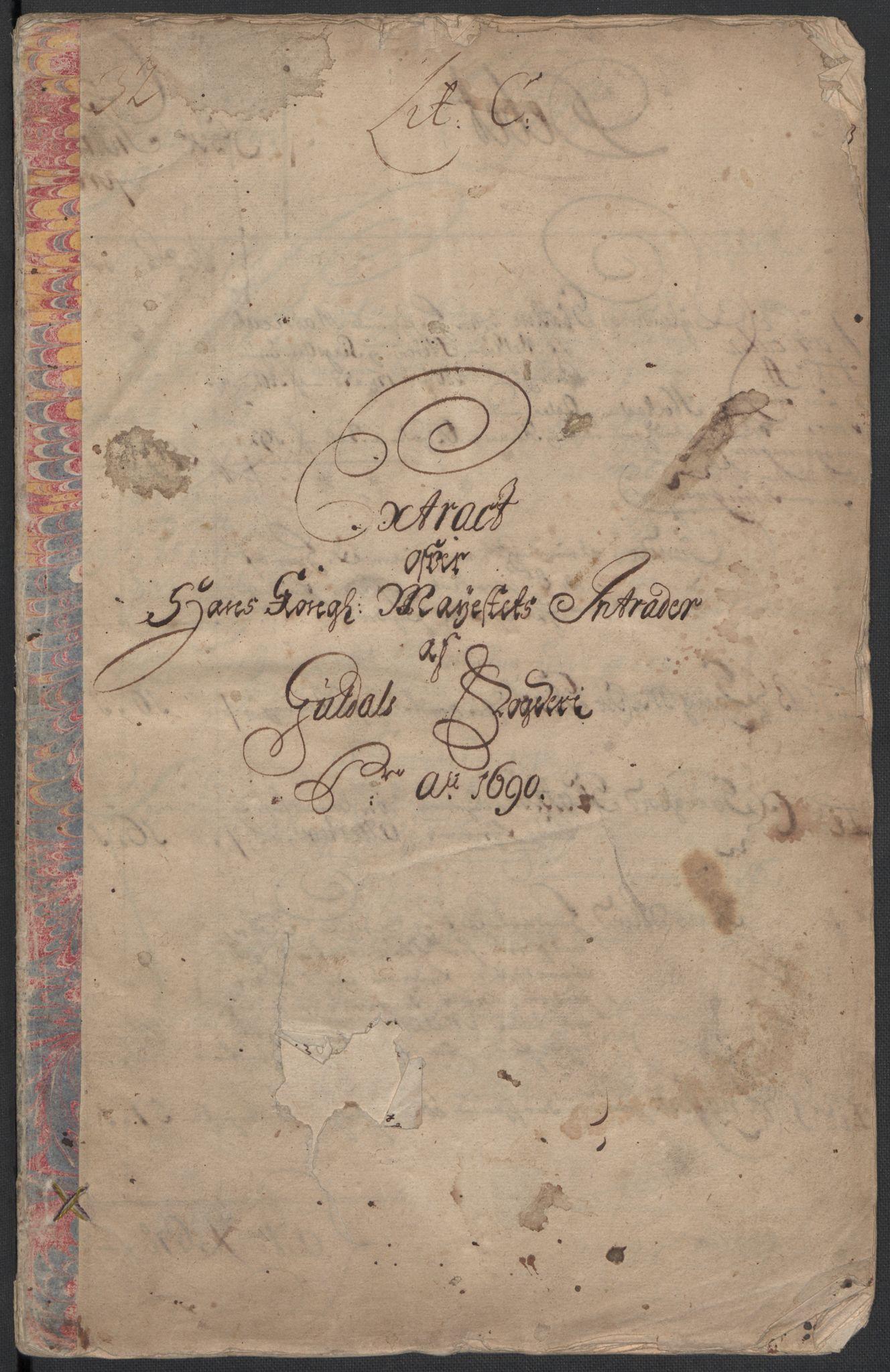 RA, Rentekammeret inntil 1814, Reviderte regnskaper, Fogderegnskap, R59/L3940: Fogderegnskap Gauldal, 1689-1690, s. 182
