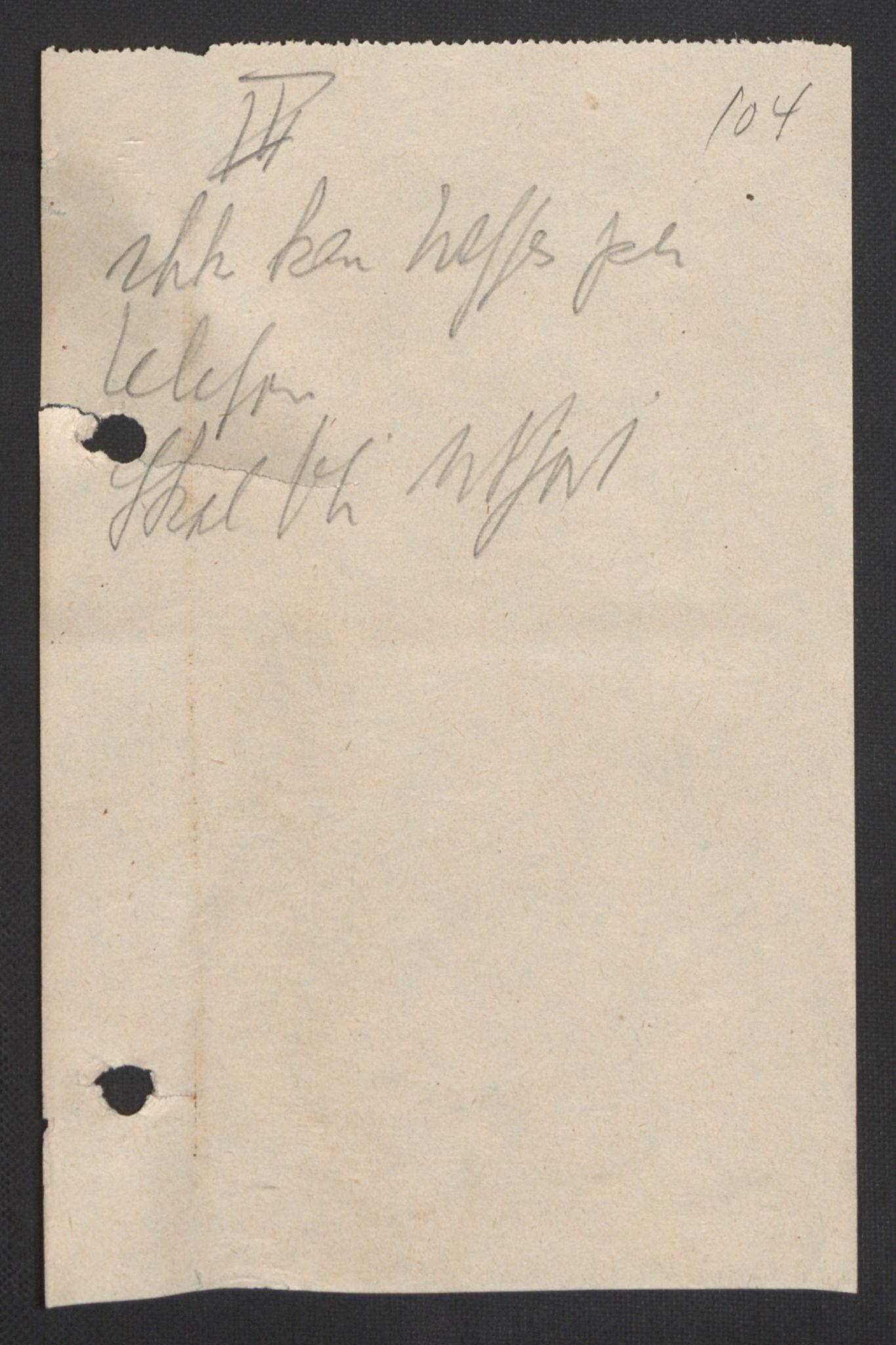RA, Forsvaret, Forsvarets krigshistoriske avdeling, Y/Yb/L0104: II-C-11-430  -  4. Divisjon., 1940, s. 134