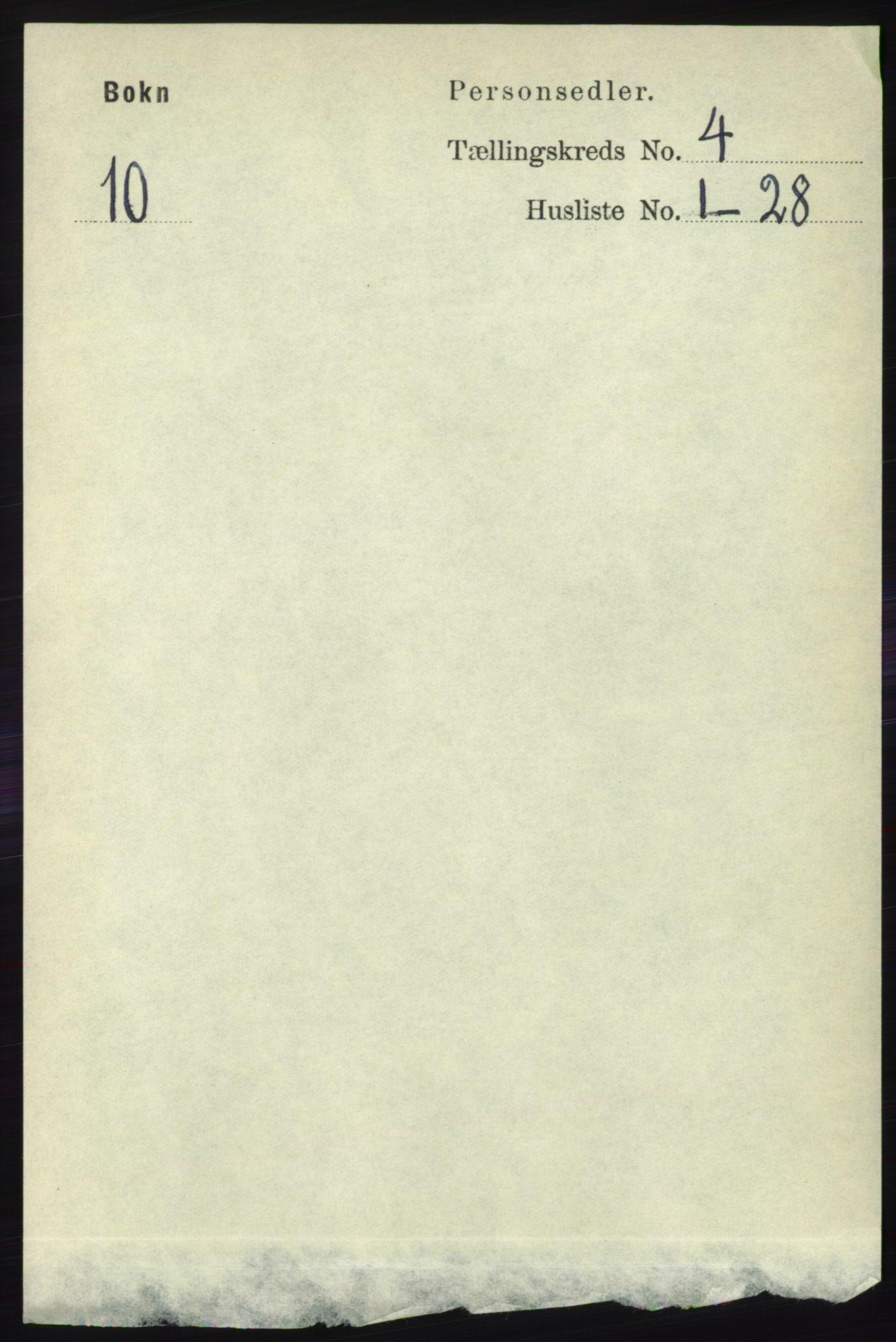 RA, Folketelling 1891 for 1145 Bokn herred, 1891, s. 865
