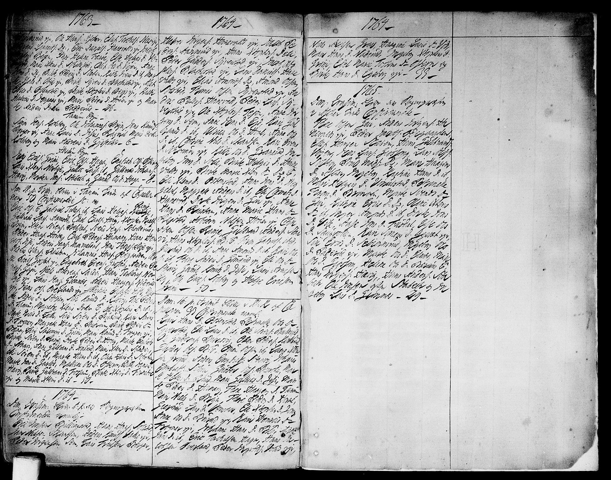 SAO, Asker prestekontor Kirkebøker, F/Fa/L0002: Ministerialbok nr. I 2, 1733-1766, s. 283