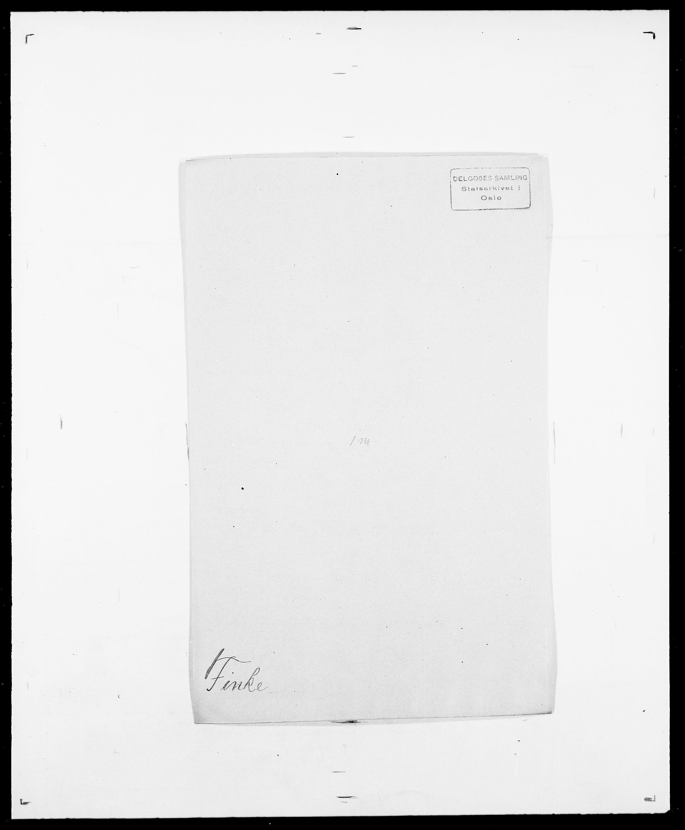 SAO, Delgobe, Charles Antoine - samling, D/Da/L0011: Fahlander - Flood, Flod, s. 485