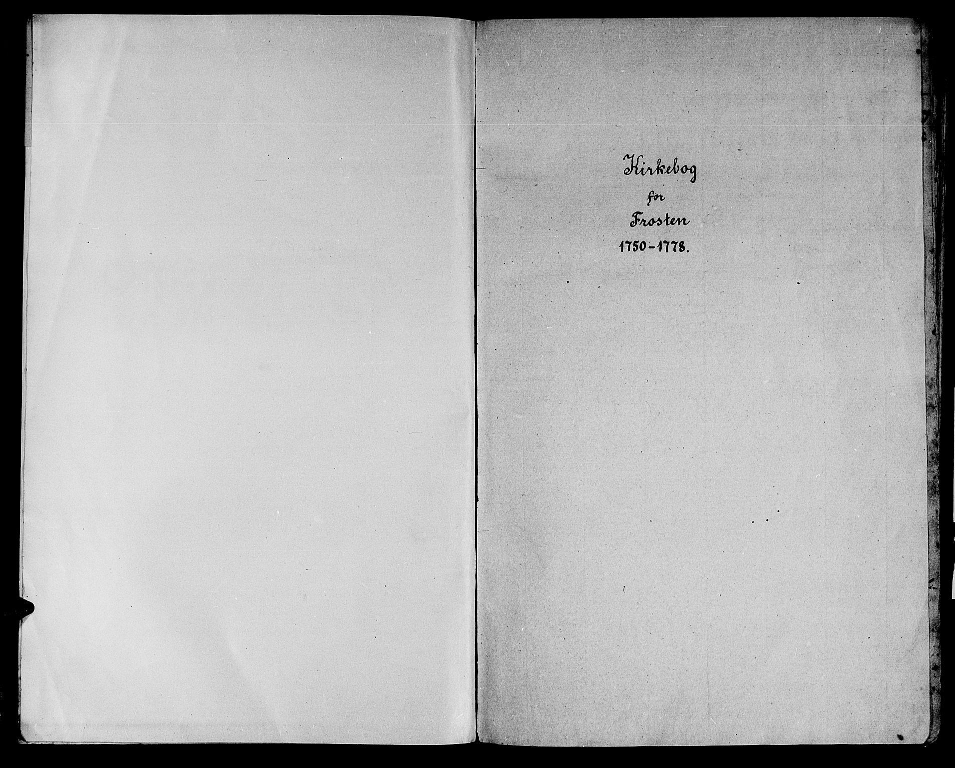 SAT, Ministerialprotokoller, klokkerbøker og fødselsregistre - Nord-Trøndelag, 713/L0109: Ministerialbok nr. 713A01, 1750-1778