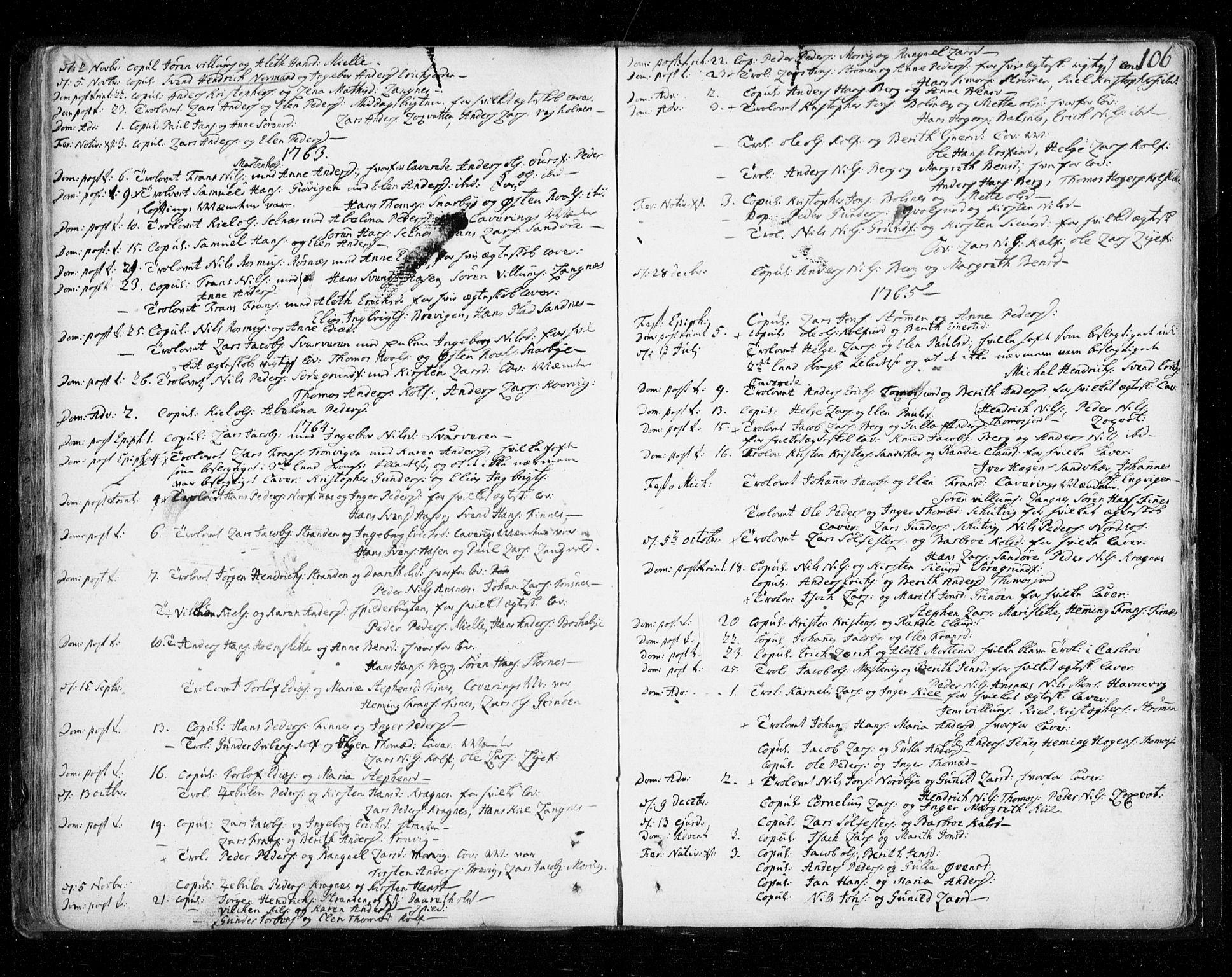SATØ, Tromsø sokneprestkontor/stiftsprosti/domprosti, G/Ga/L0002kirke: Ministerialbok nr. 2, 1753-1778, s. 106