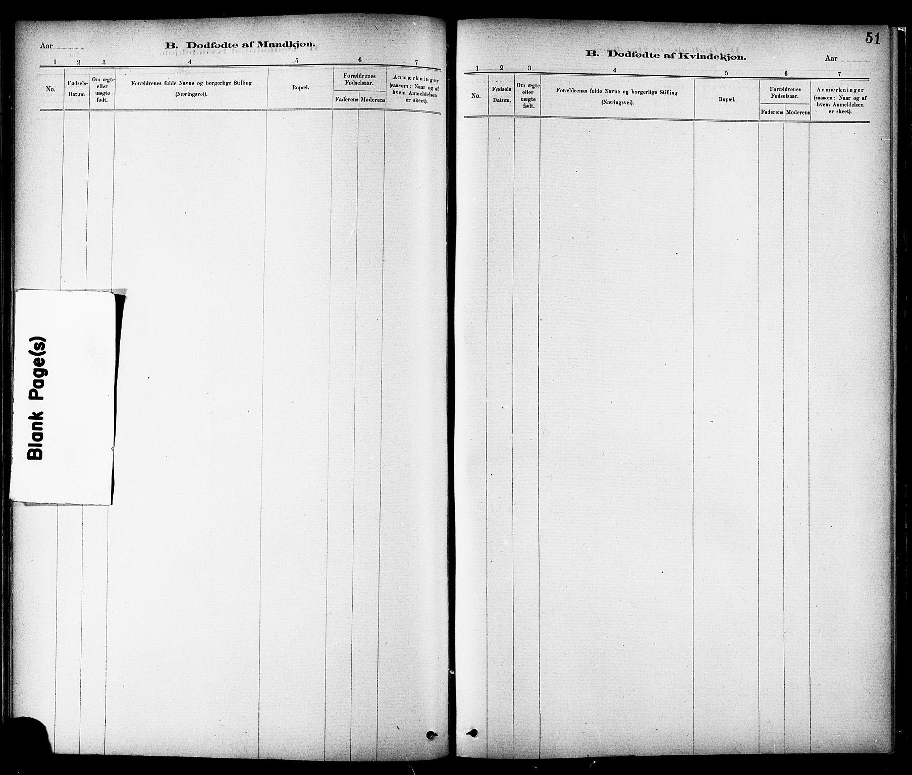 SAT, Ministerialprotokoller, klokkerbøker og fødselsregistre - Sør-Trøndelag, 689/L1040: Ministerialbok nr. 689A05, 1878-1890, s. 51