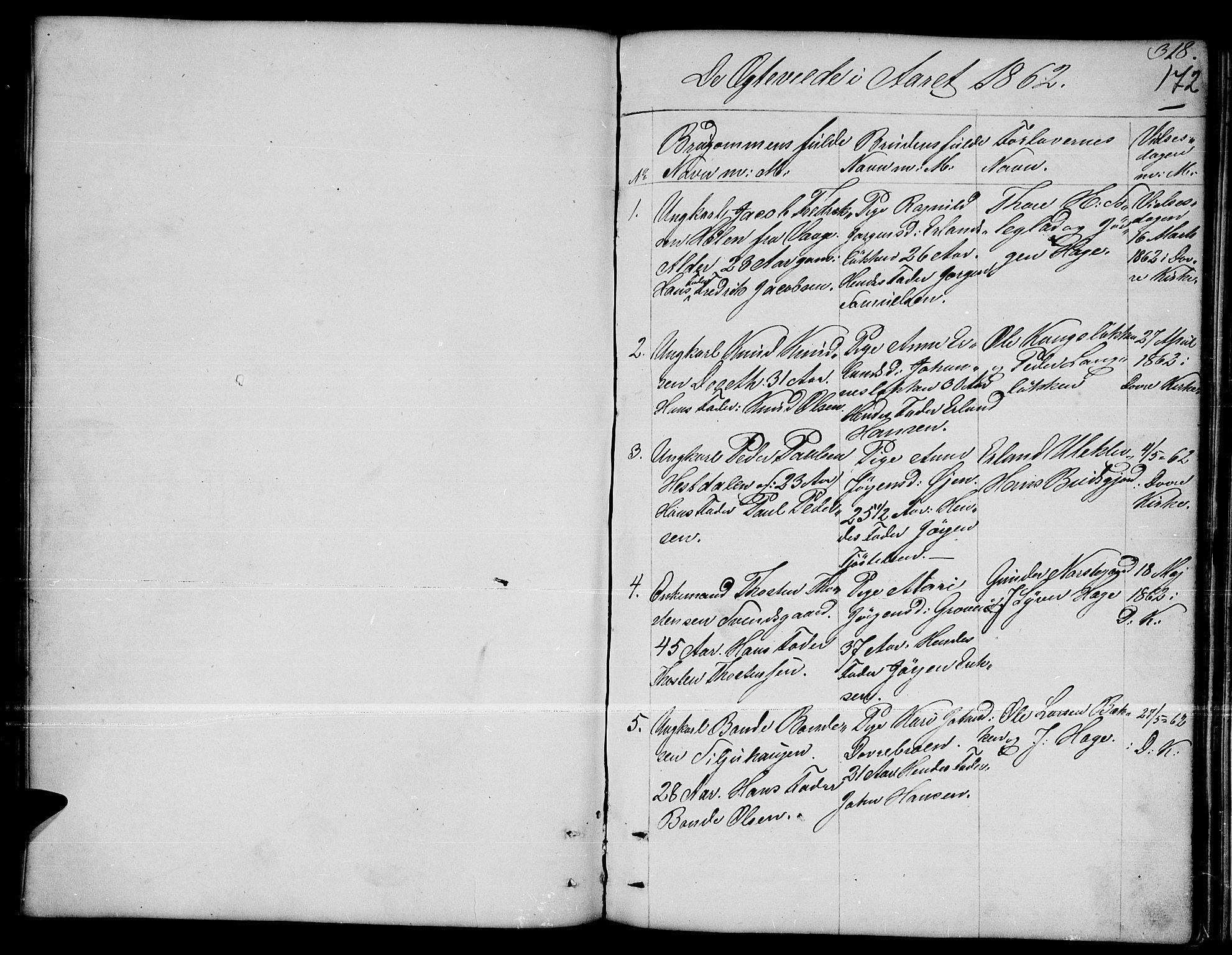 SAH, Dovre prestekontor, Klokkerbok nr. 1, 1862-1880, s. 318