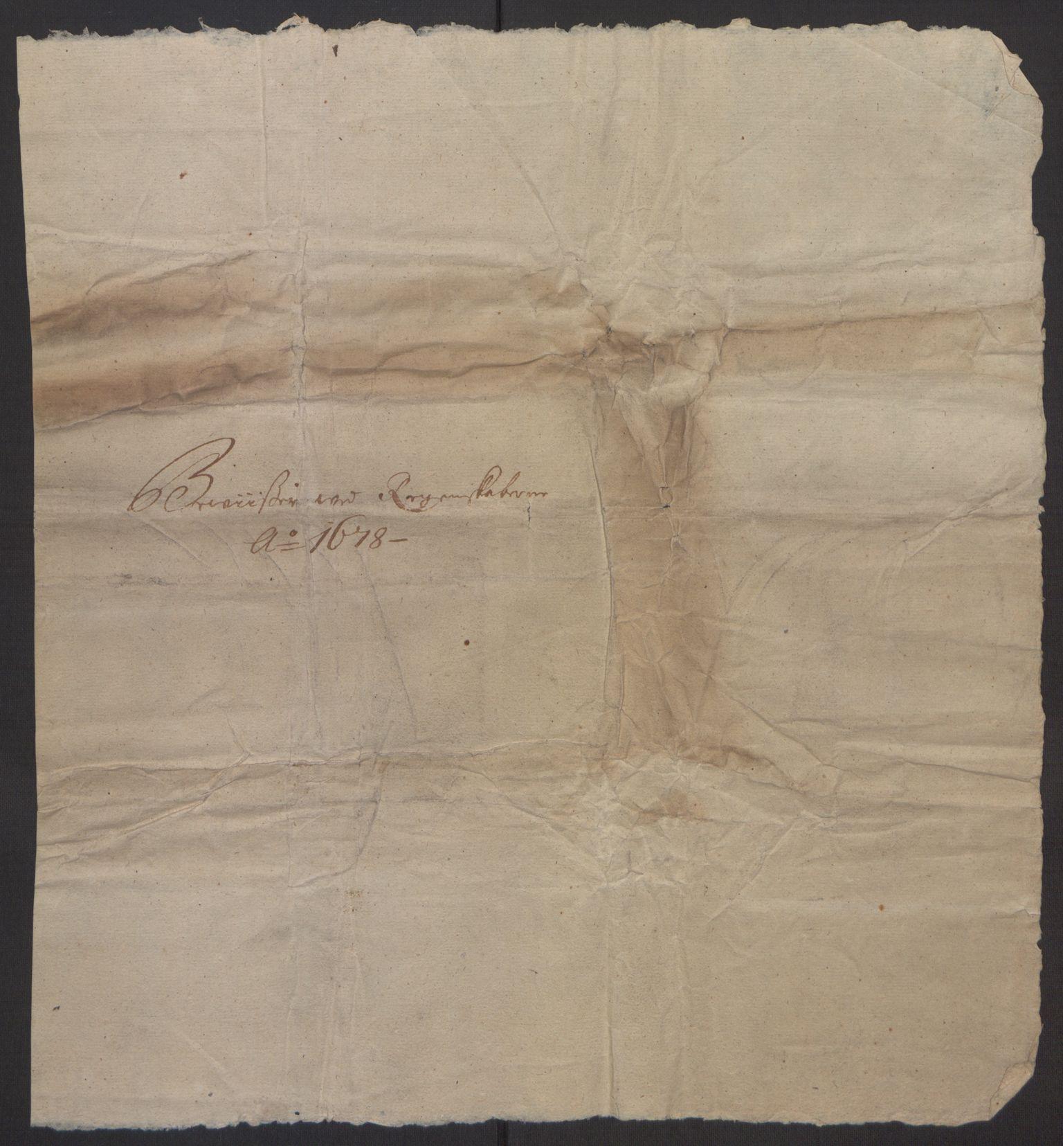 RA, Rentekammeret inntil 1814, Reviderte regnskaper, Fogderegnskap, R35/L2071: Fogderegnskap Øvre og Nedre Telemark, 1678, s. 188