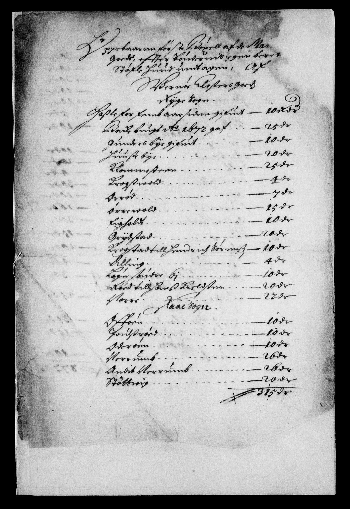 RA, Rentekammeret inntil 1814, Realistisk ordnet avdeling, On/L0007: [Jj 8]: Jordebøker og dokumenter innlevert til kongelig kommisjon 1672: Verne klosters gods, 1658-1672, s. 177