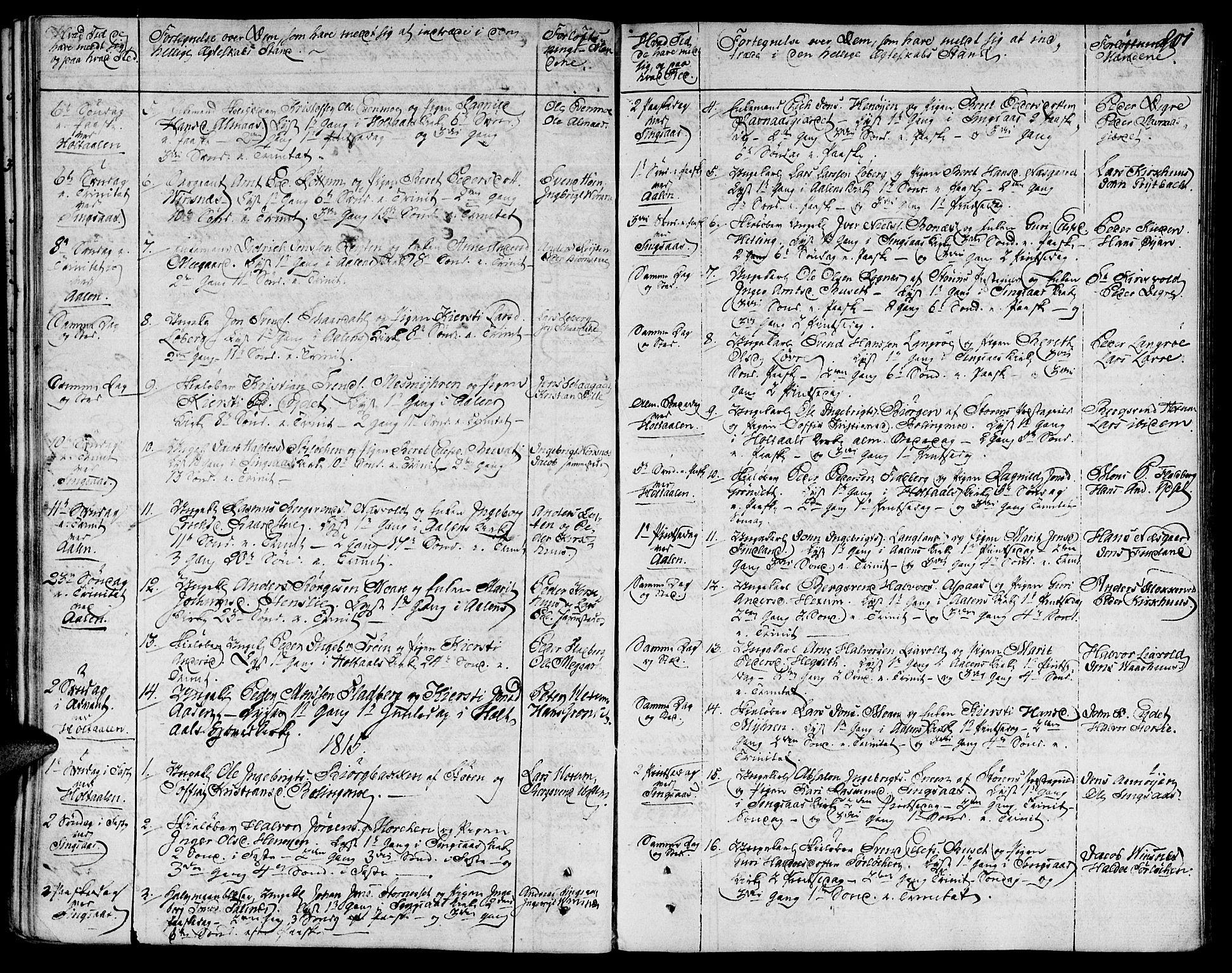 SAT, Ministerialprotokoller, klokkerbøker og fødselsregistre - Sør-Trøndelag, 685/L0953: Ministerialbok nr. 685A02, 1805-1816, s. 201