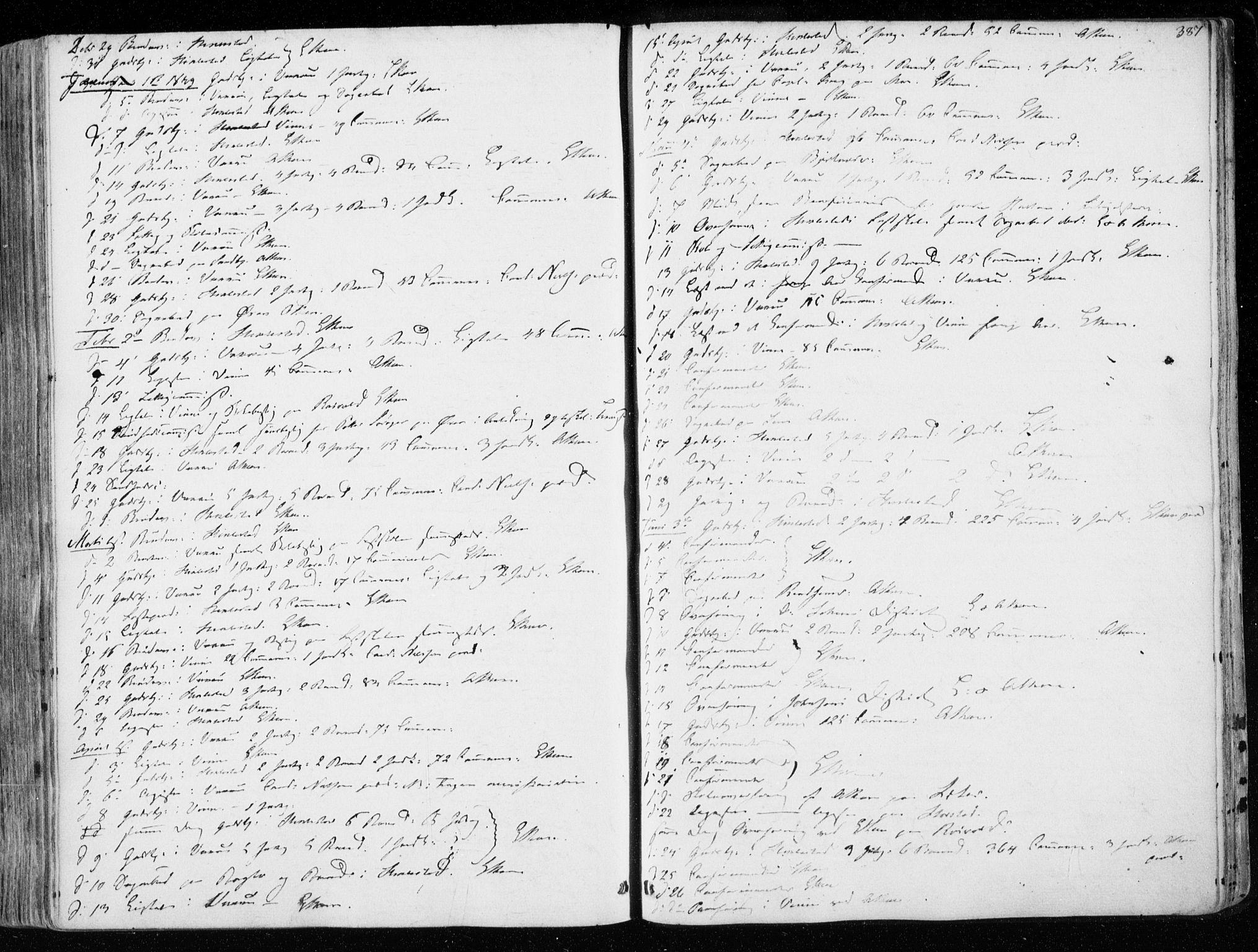 SAT, Ministerialprotokoller, klokkerbøker og fødselsregistre - Nord-Trøndelag, 723/L0239: Ministerialbok nr. 723A08, 1841-1851, s. 387