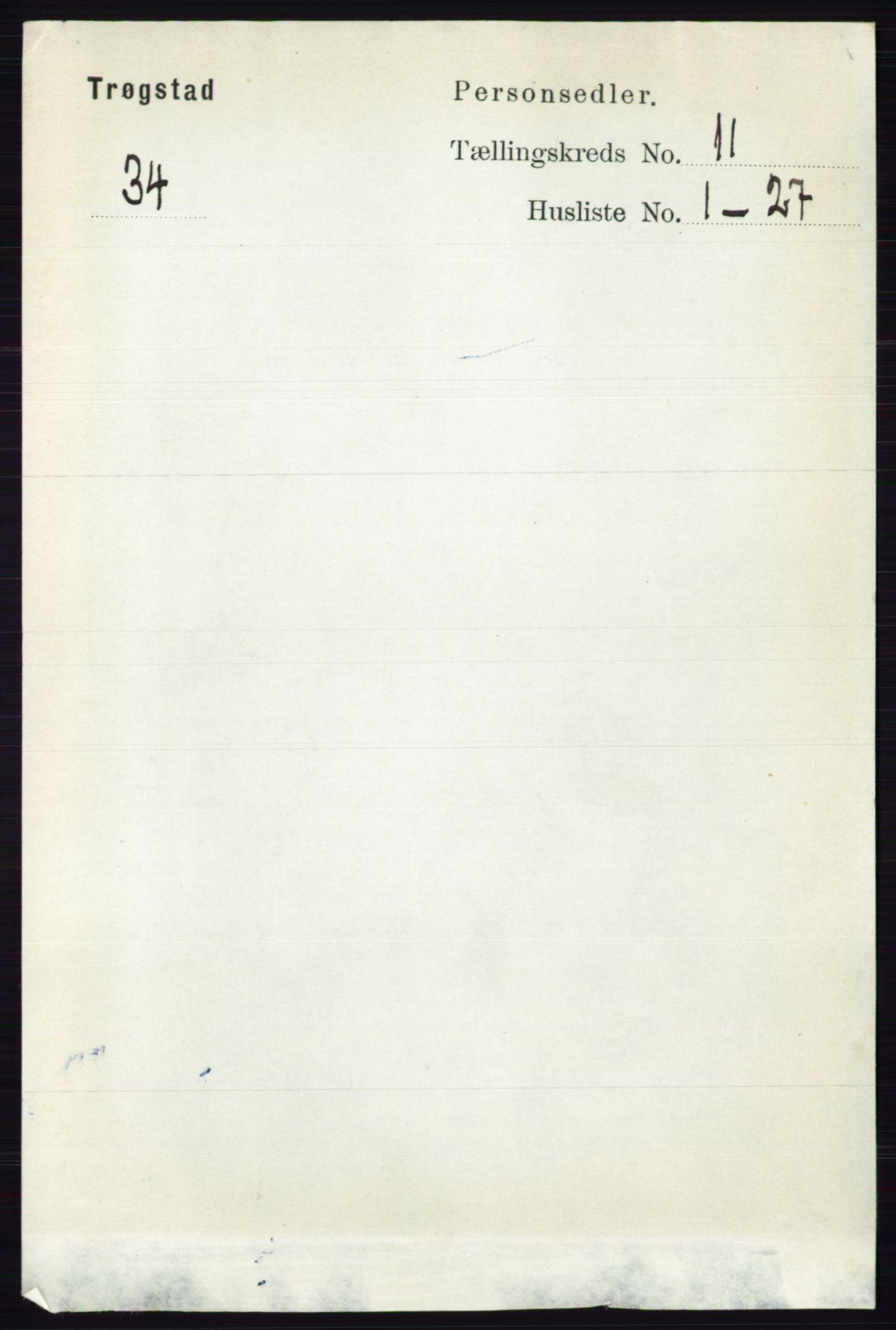 RA, Folketelling 1891 for 0122 Trøgstad herred, 1891, s. 4722