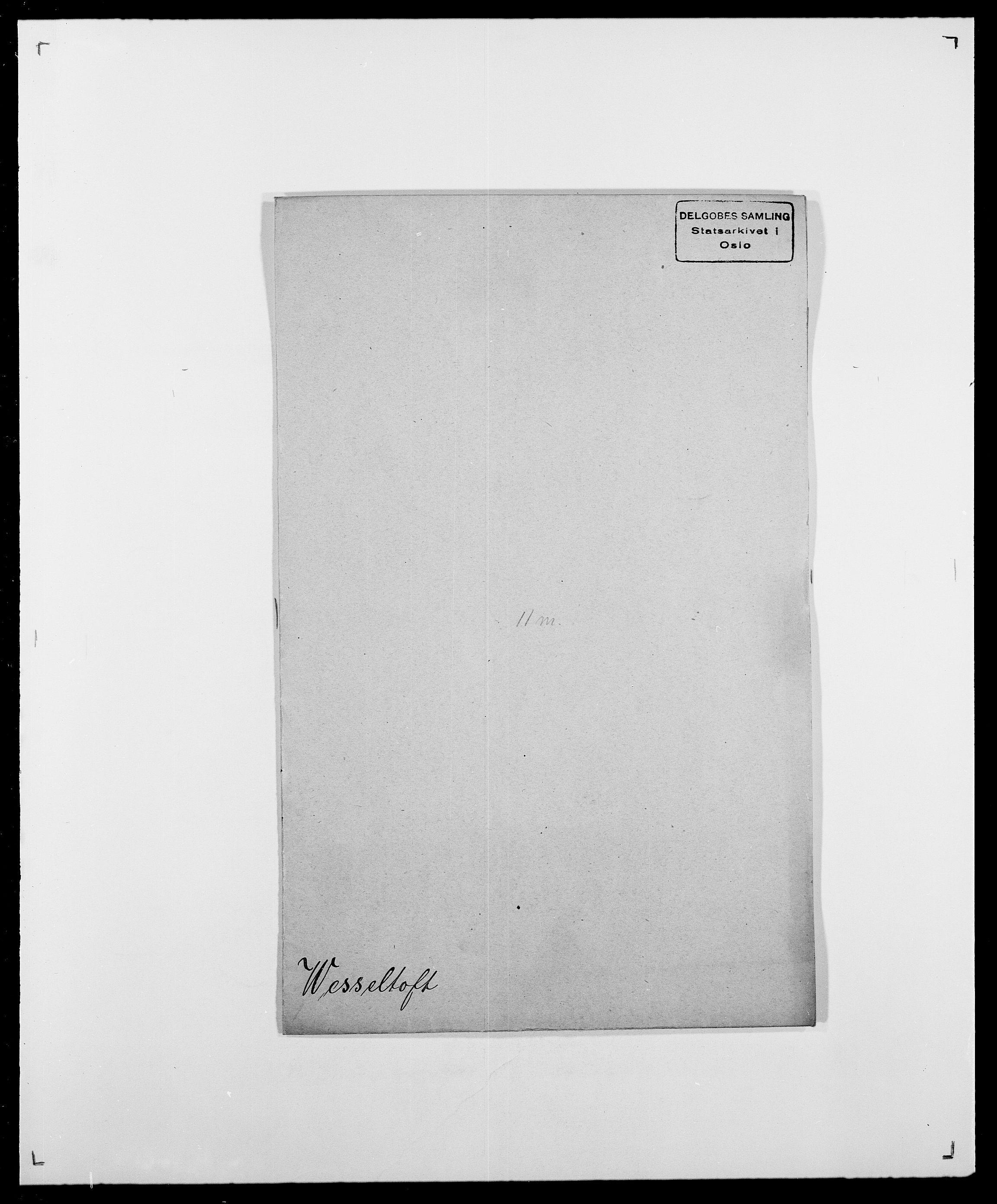 SAO, Delgobe, Charles Antoine - samling, D/Da/L0041: Vemmestad - Viker, s. 224