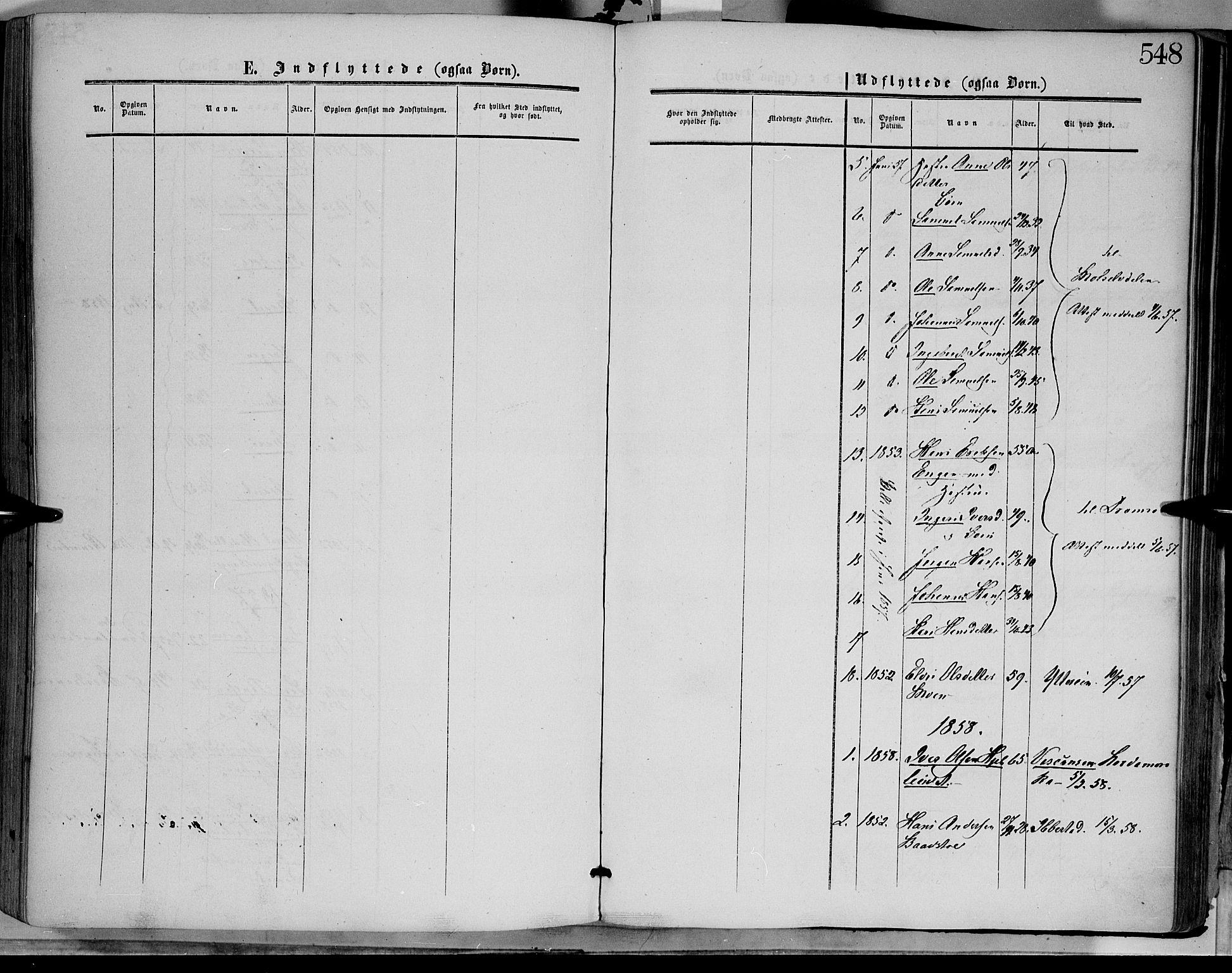 SAH, Dovre prestekontor, Ministerialbok nr. 1, 1854-1878, s. 548
