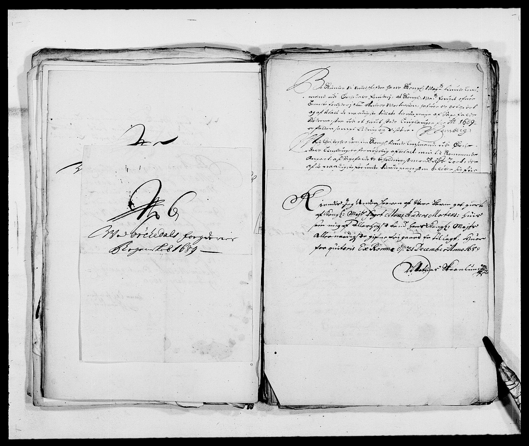 RA, Rentekammeret inntil 1814, Reviderte regnskaper, Fogderegnskap, R58/L3936: Fogderegnskap Orkdal, 1689-1690, s. 189