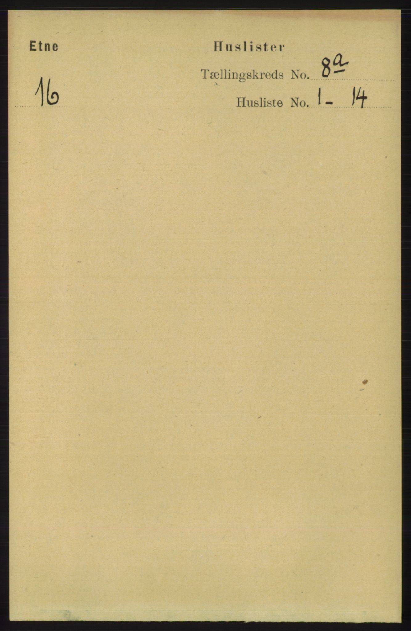 RA, Folketelling 1891 for 1211 Etne herred, 1891, s. 1522
