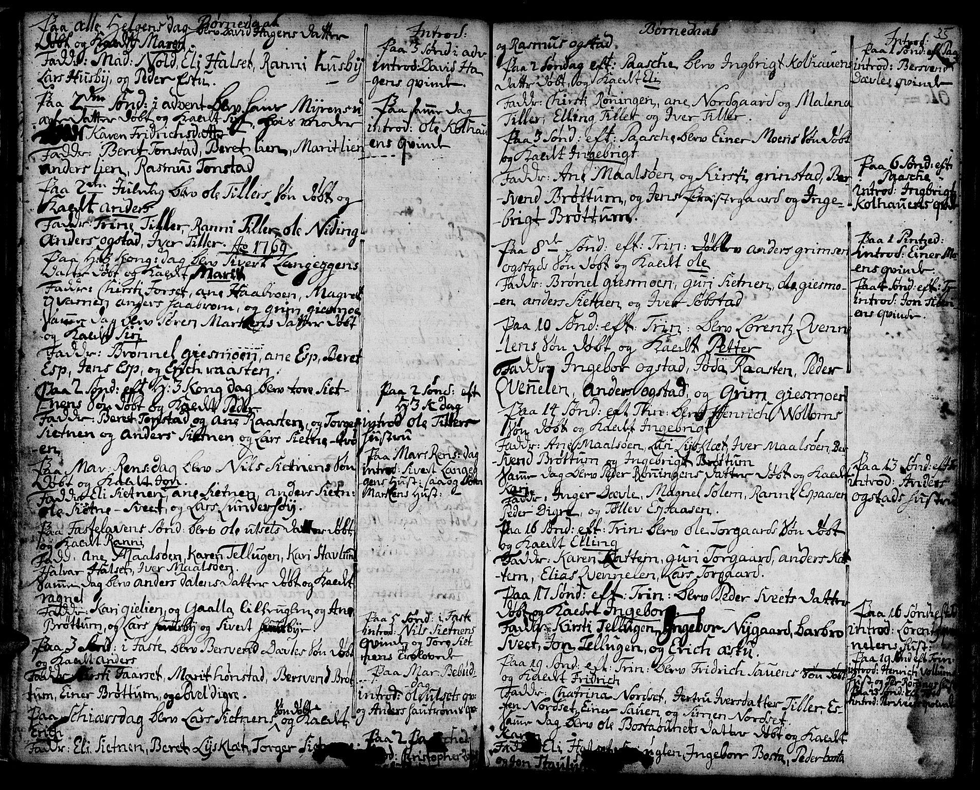 SAT, Ministerialprotokoller, klokkerbøker og fødselsregistre - Sør-Trøndelag, 618/L0437: Ministerialbok nr. 618A02, 1749-1782, s. 35