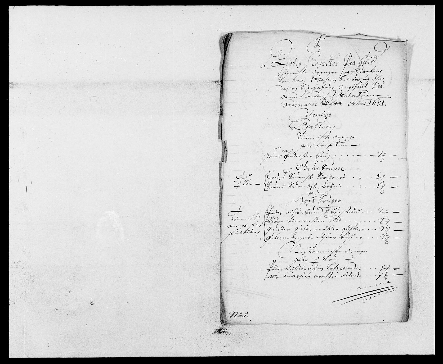 RA, Rentekammeret inntil 1814, Reviderte regnskaper, Fogderegnskap, R13/L0818: Fogderegnskap Solør, Odal og Østerdal, 1681, s. 227