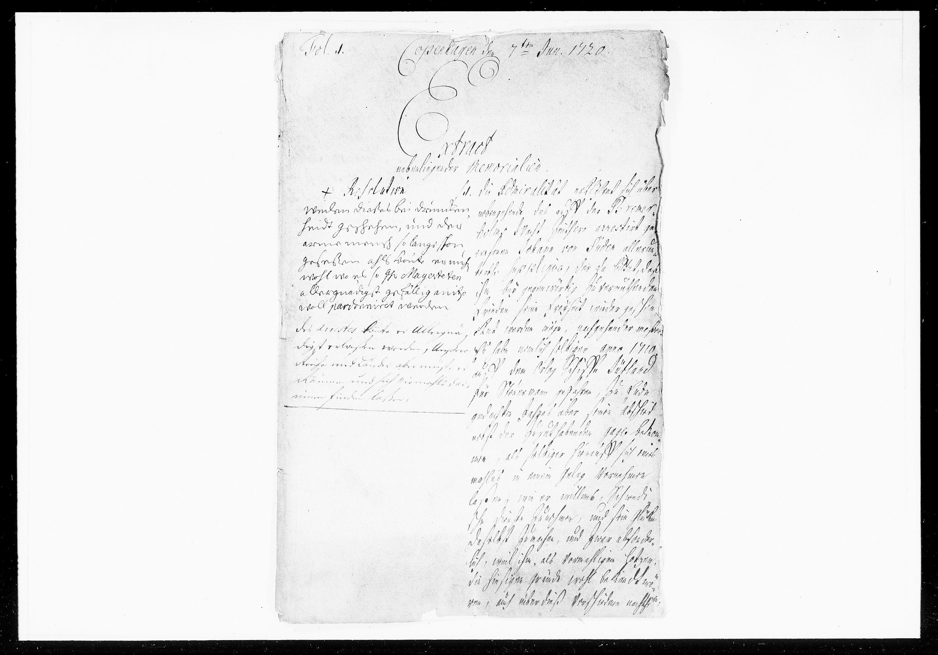 DRA, Krigskollegiet, Krigskancelliet, -/1057-1060: Refererede sager, 1720, s. 175