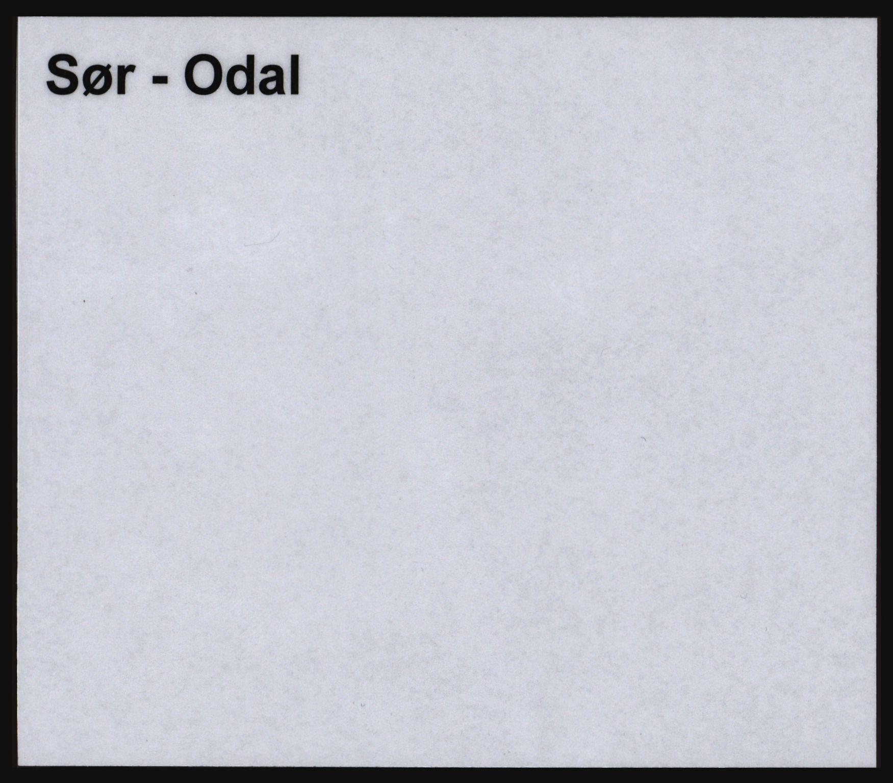SAH, Norges Brannkasse, Sør-Odal, s. 1