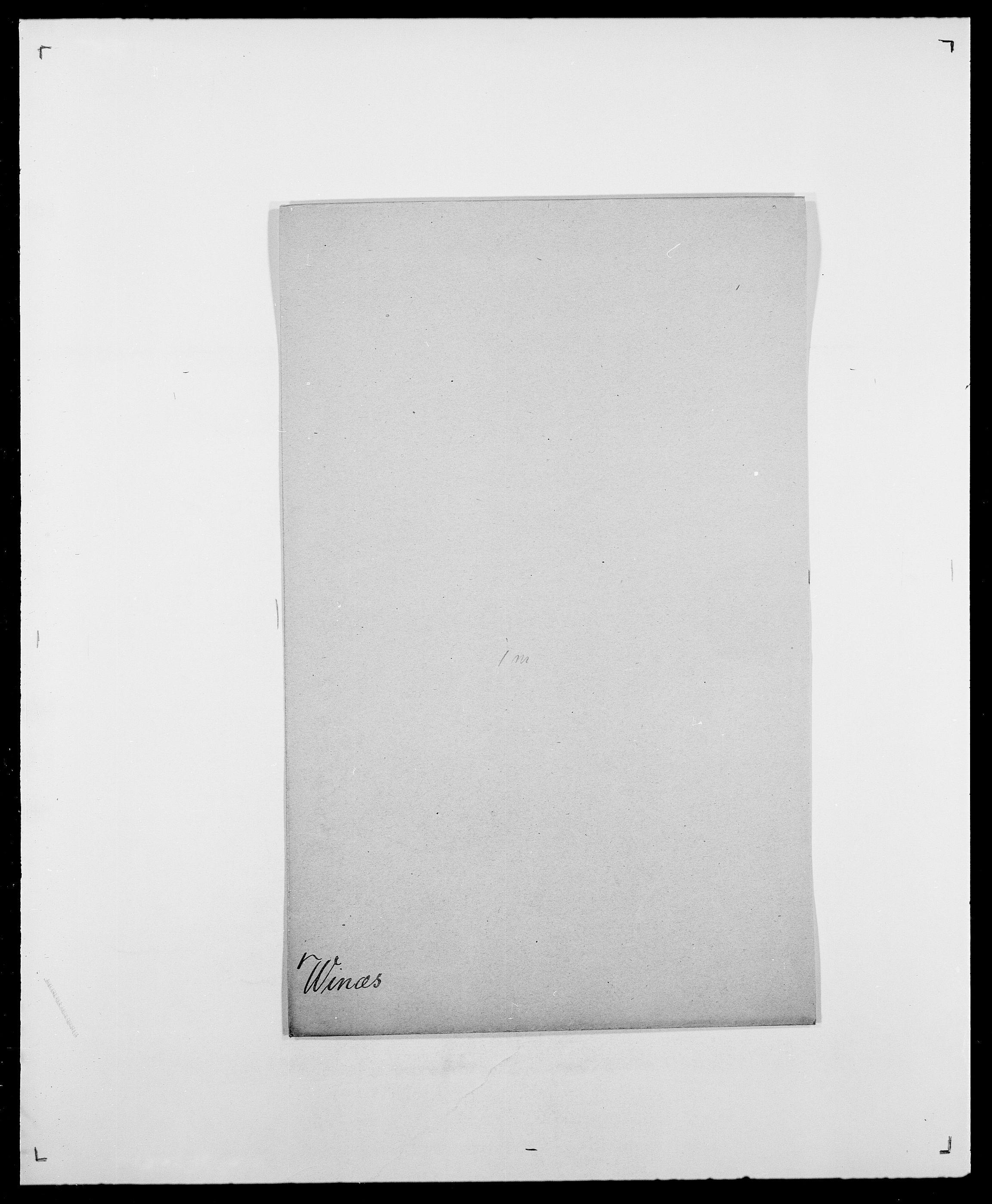 SAO, Delgobe, Charles Antoine - samling, D/Da/L0042: Vilain - Wulf, Wulff, se også Wolf, s. 371