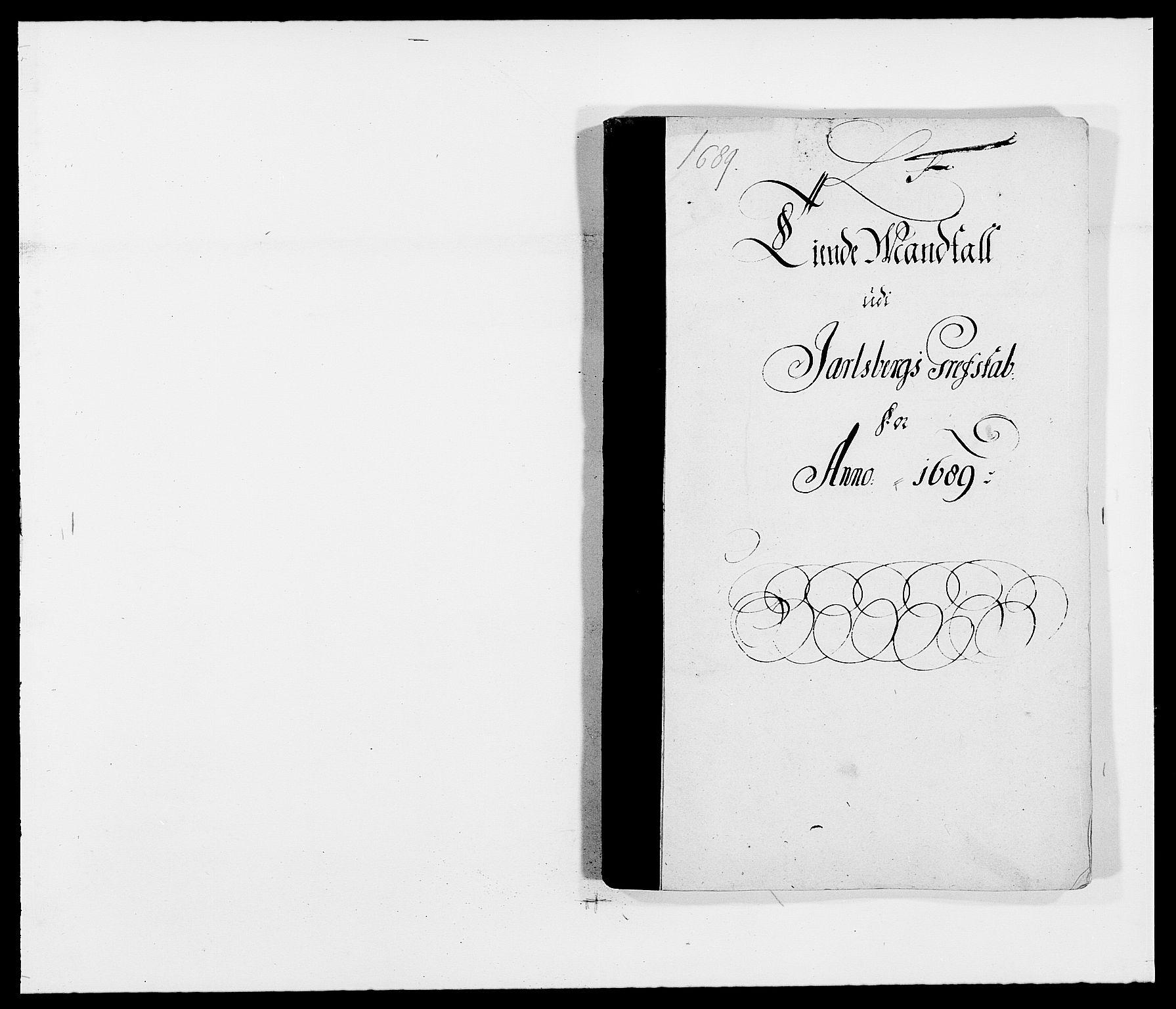 RA, Rentekammeret inntil 1814, Reviderte regnskaper, Fogderegnskap, R32/L1860: Fogderegnskap Jarlsberg grevskap, 1686-1690, s. 244