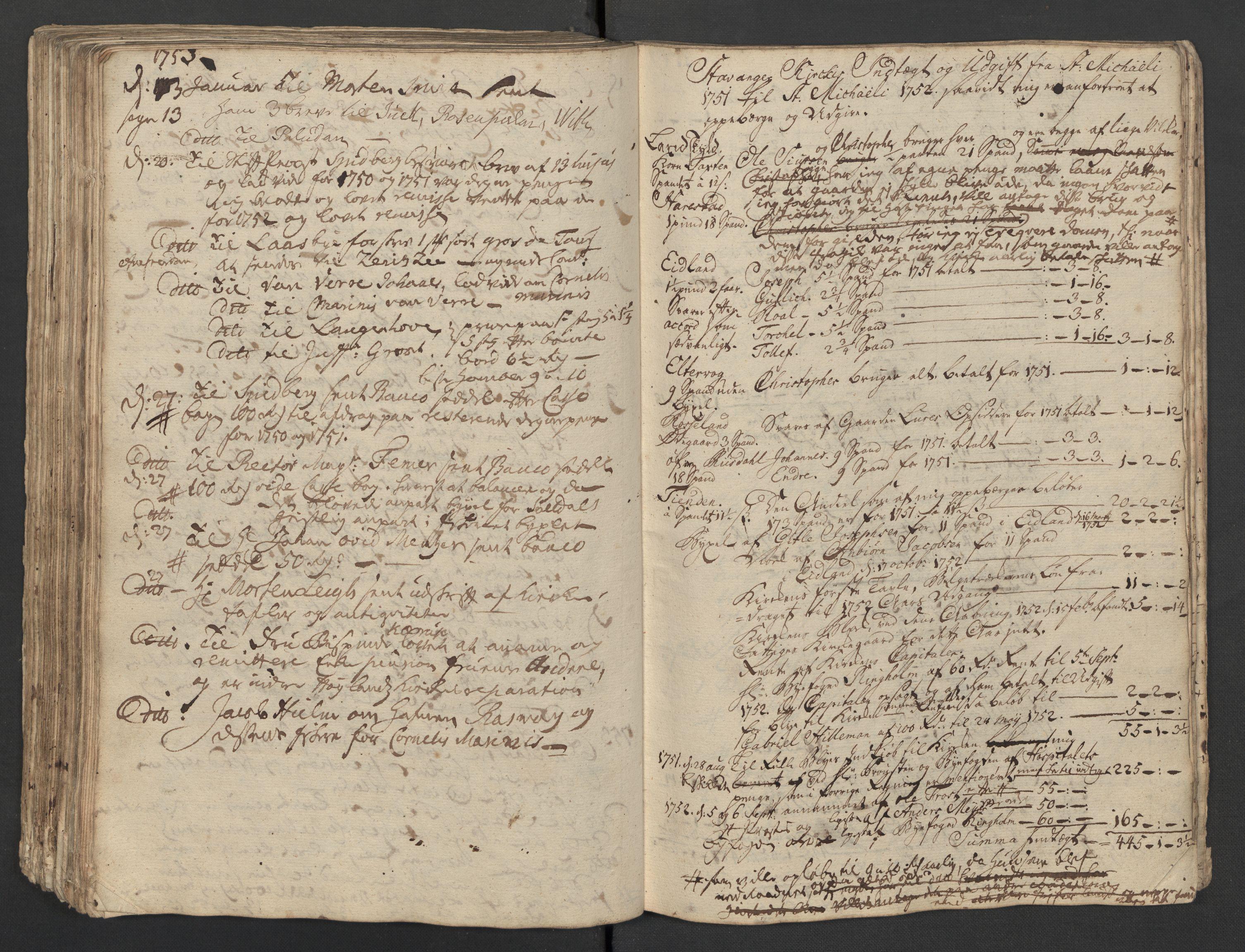 SAST, Pa 0119 - Smith, Lauritz Andersen og Lauritz Lauritzen, O/L0001: Kopibøker m.m., 1746-1755, s. 158
