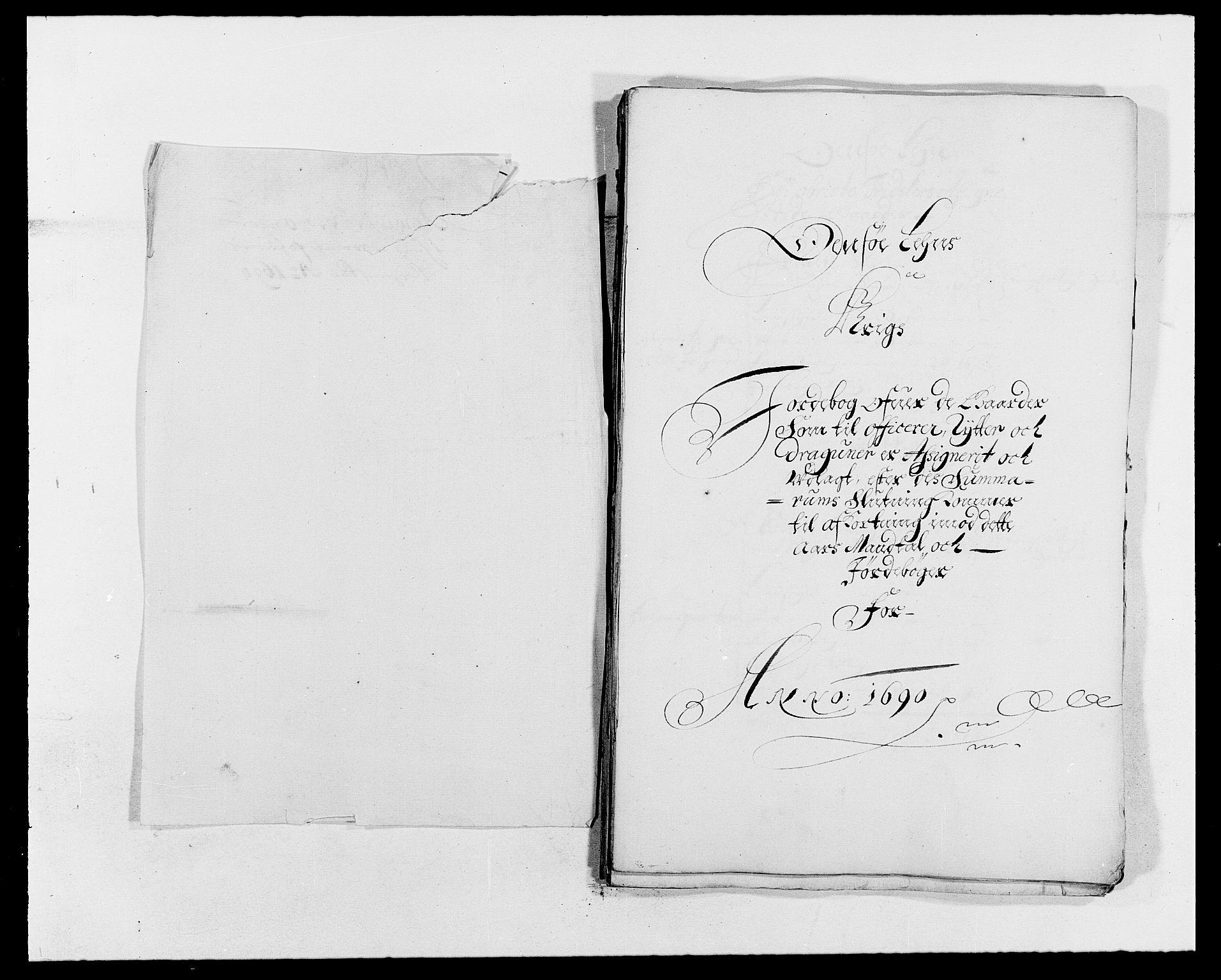 RA, Rentekammeret inntil 1814, Reviderte regnskaper, Fogderegnskap, R03/L0119: Fogderegnskap Onsøy, Tune, Veme og Åbygge fogderi, 1690-1691, s. 165