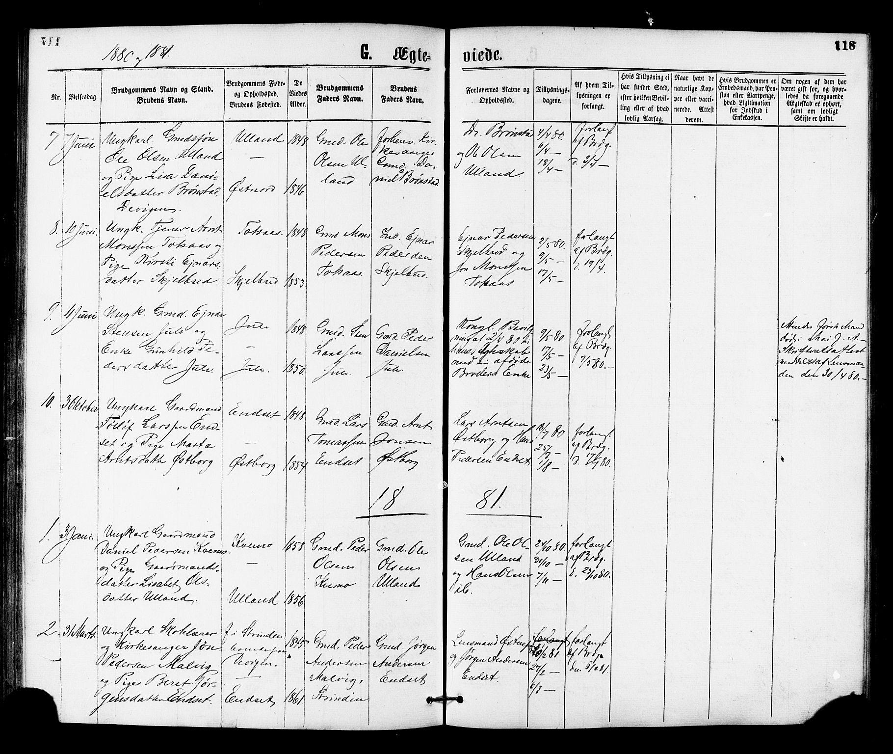SAT, Ministerialprotokoller, klokkerbøker og fødselsregistre - Nord-Trøndelag, 755/L0493: Ministerialbok nr. 755A02, 1865-1881, s. 118