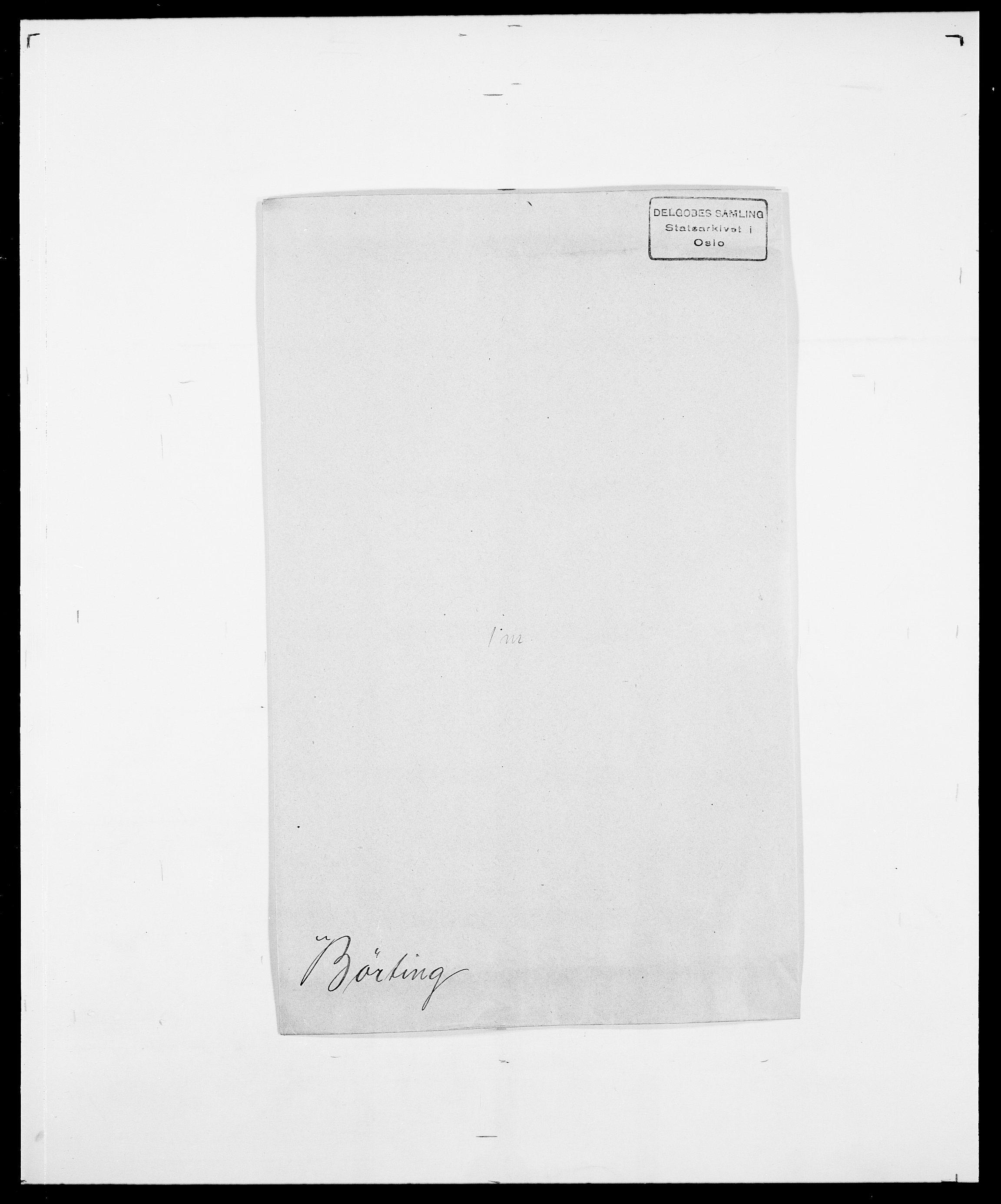 SAO, Delgobe, Charles Antoine - samling, D/Da/L0007: Buaas - Caphengst, s. 795