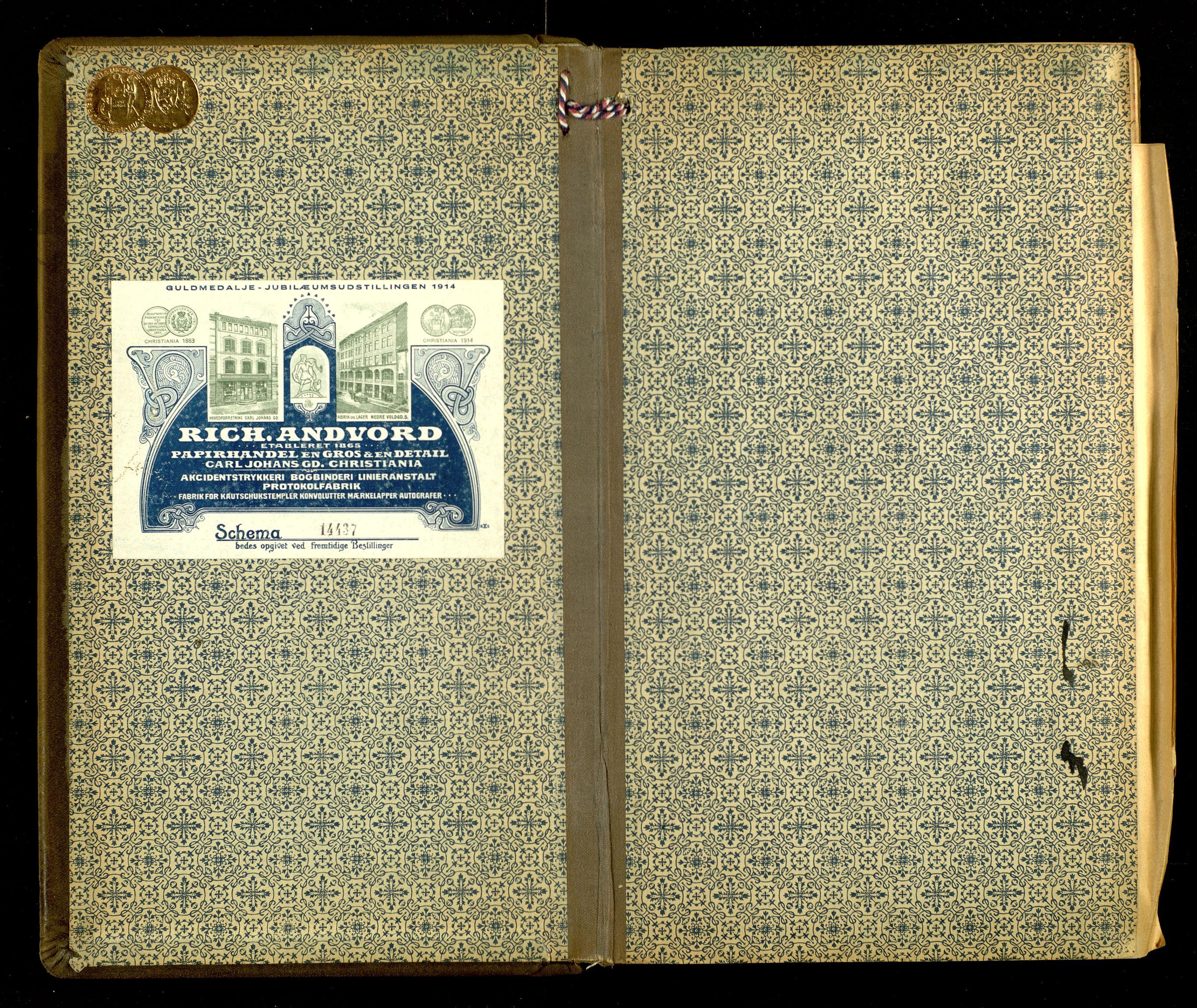SAH, Norges Brannkasse, Sel og Heidal, F/L0002: Branntakstprotokoll, 1920-1928