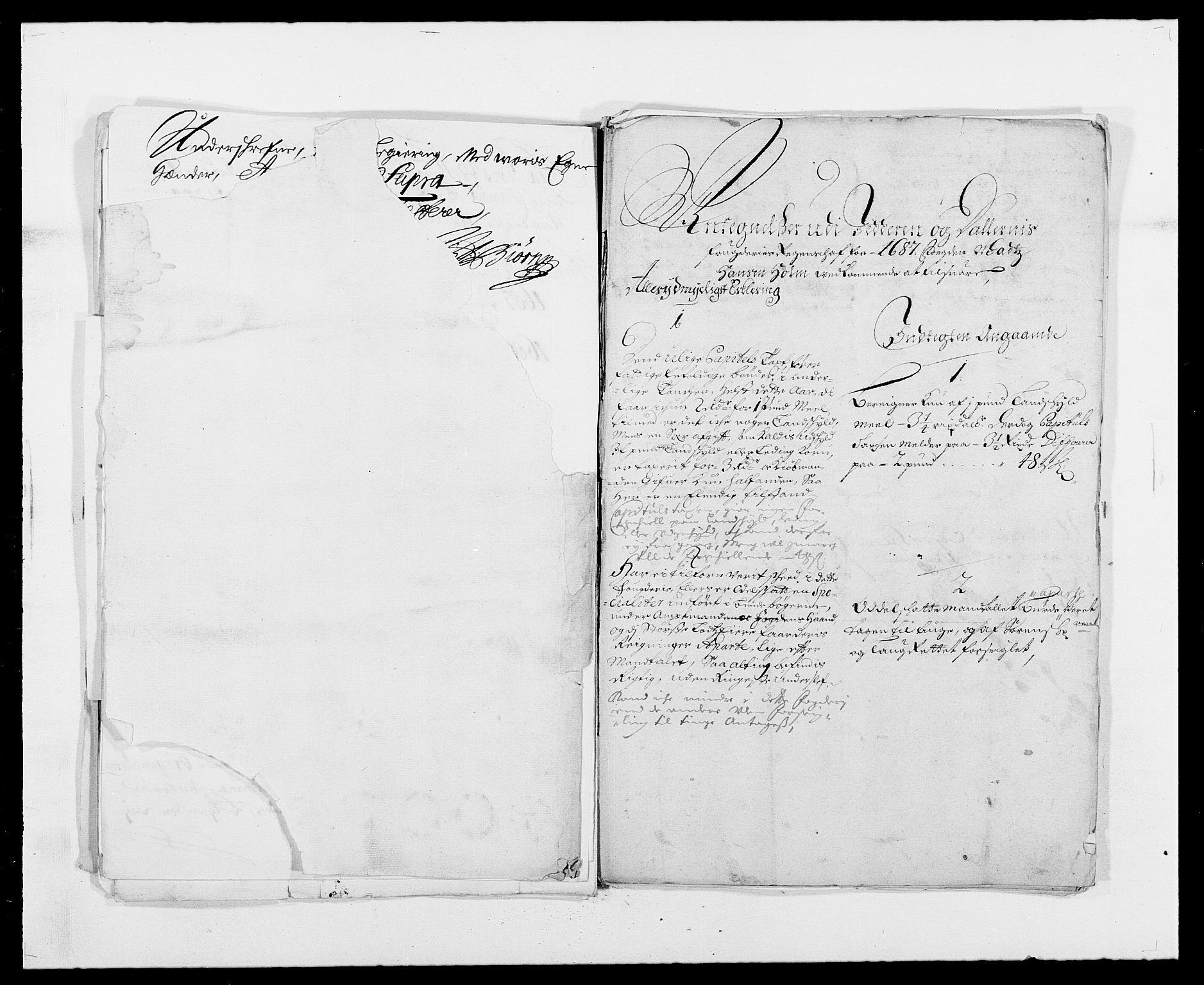 RA, Rentekammeret inntil 1814, Reviderte regnskaper, Fogderegnskap, R46/L2726: Fogderegnskap Jæren og Dalane, 1686-1689, s. 219