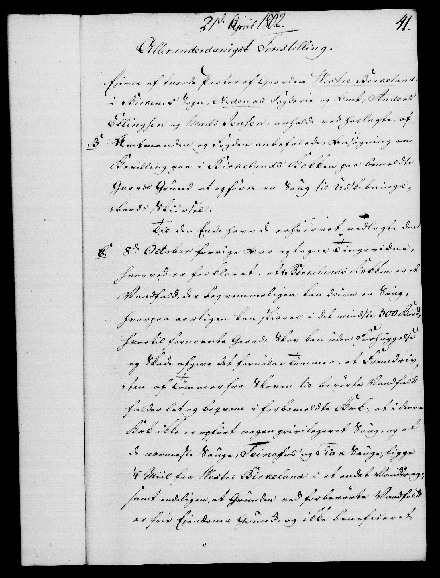 RA, Rentekammeret, Kammerkanselliet, G/Gf/Gfa/L0084: Norsk relasjons- og resolusjonsprotokoll (merket RK 52.84), 1802, s. 237