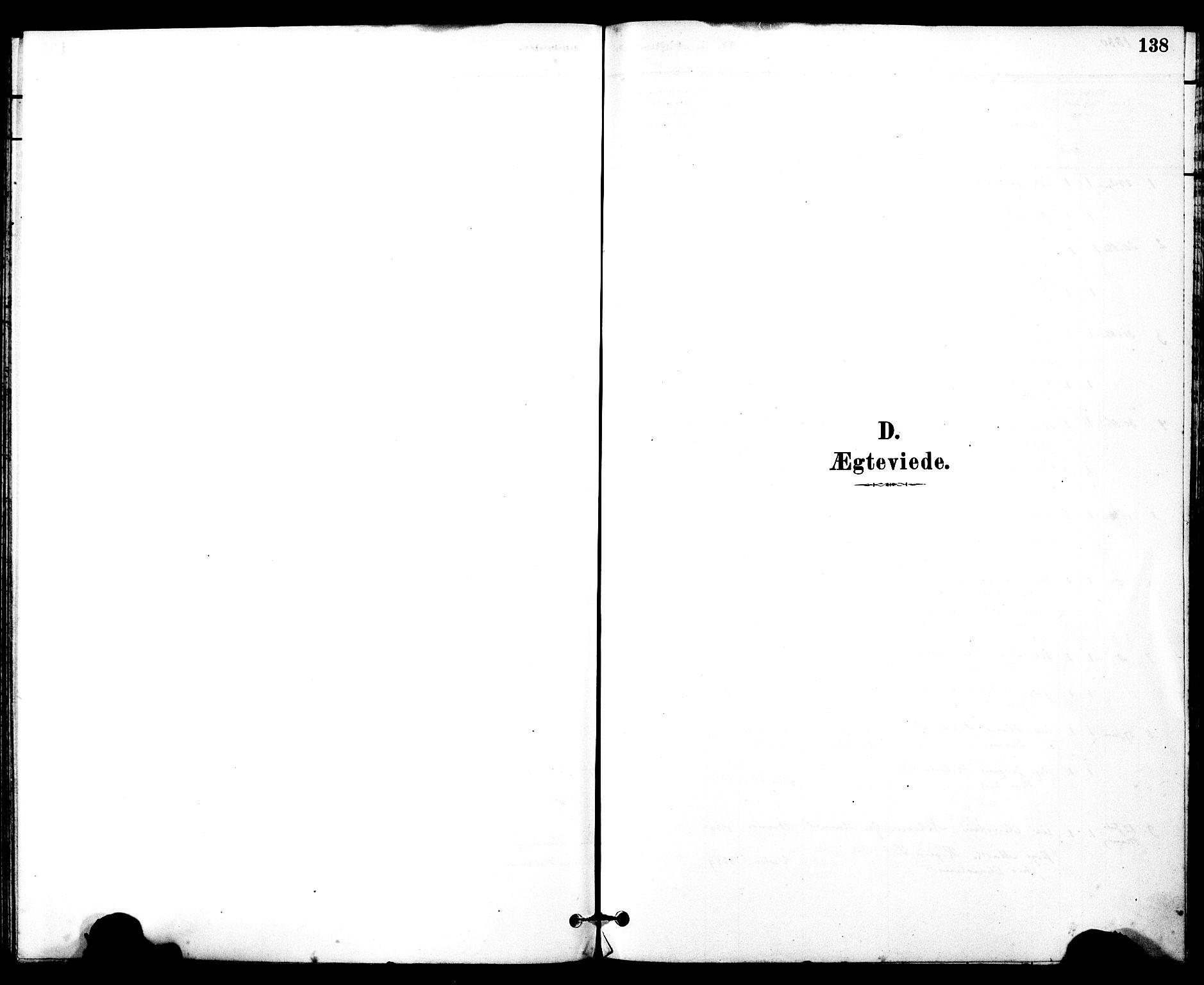 SAT, Ministerialprotokoller, klokkerbøker og fødselsregistre - Møre og Romsdal, 525/L0374: Ministerialbok nr. 525A04, 1880-1899, s. 138