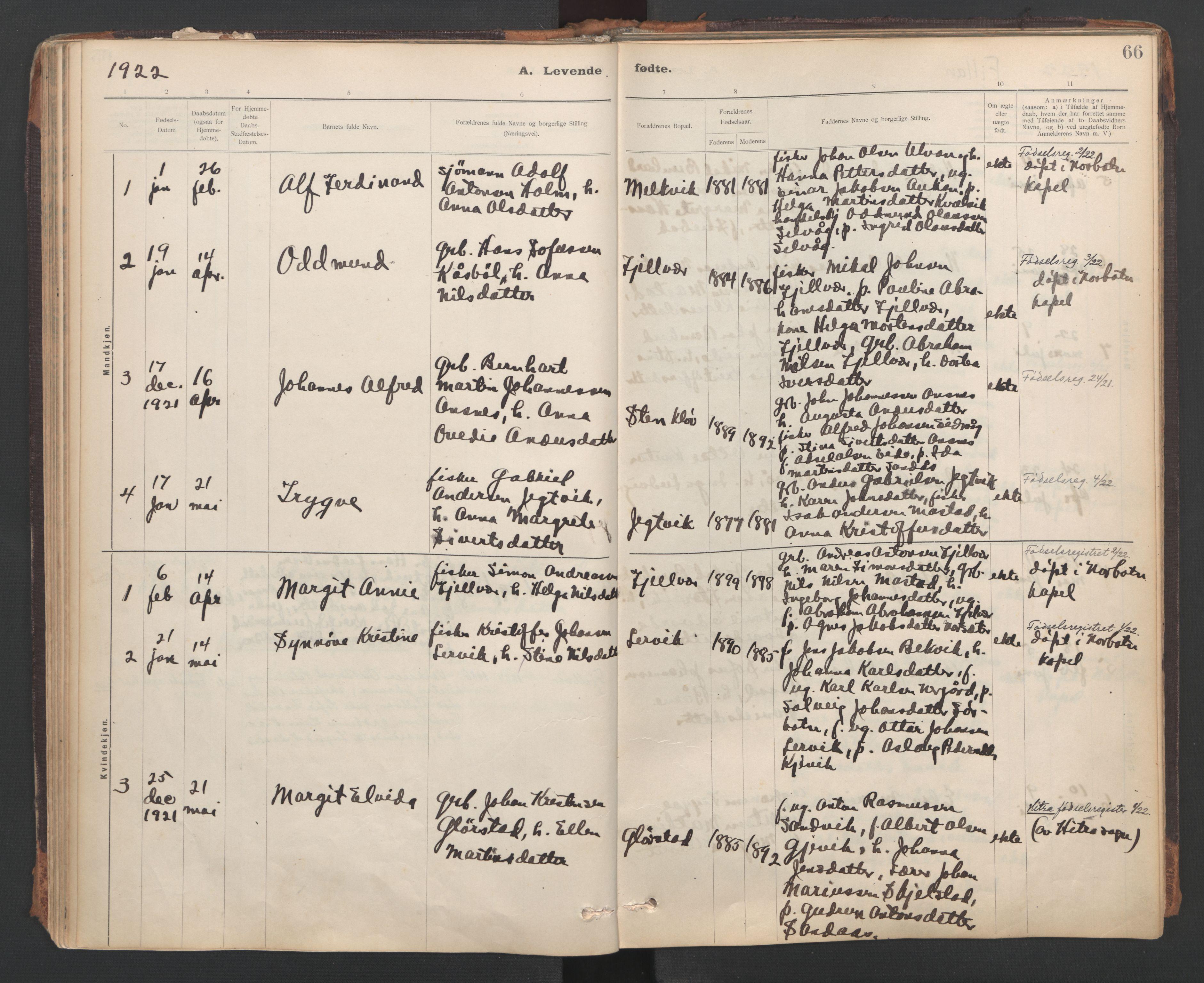 SAT, Ministerialprotokoller, klokkerbøker og fødselsregistre - Sør-Trøndelag, 637/L0559: Ministerialbok nr. 637A02, 1899-1923, s. 66