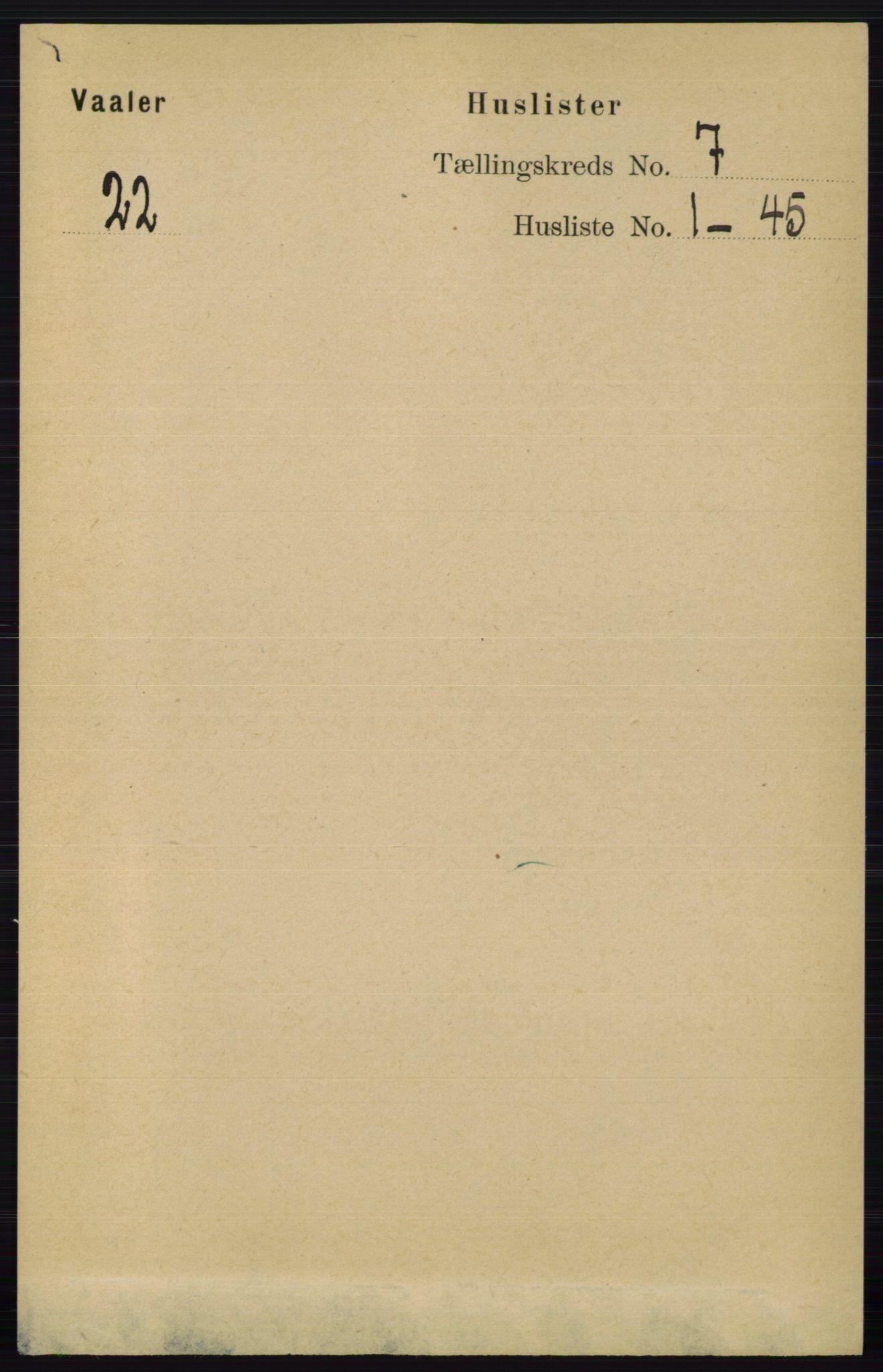 RA, Folketelling 1891 for 0137 Våler herred, 1891, s. 2797