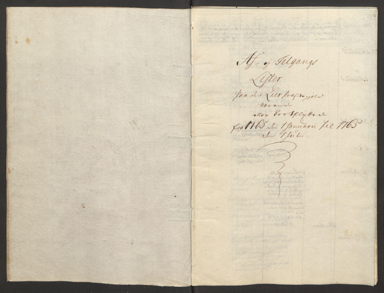 RA, Rentekammeret inntil 1814, Reviderte regnskaper, Fogderegnskap, R31/L1834: Ekstraskatten Hurum, Røyken, Eiker, Lier og Buskerud, 1765, s. 350