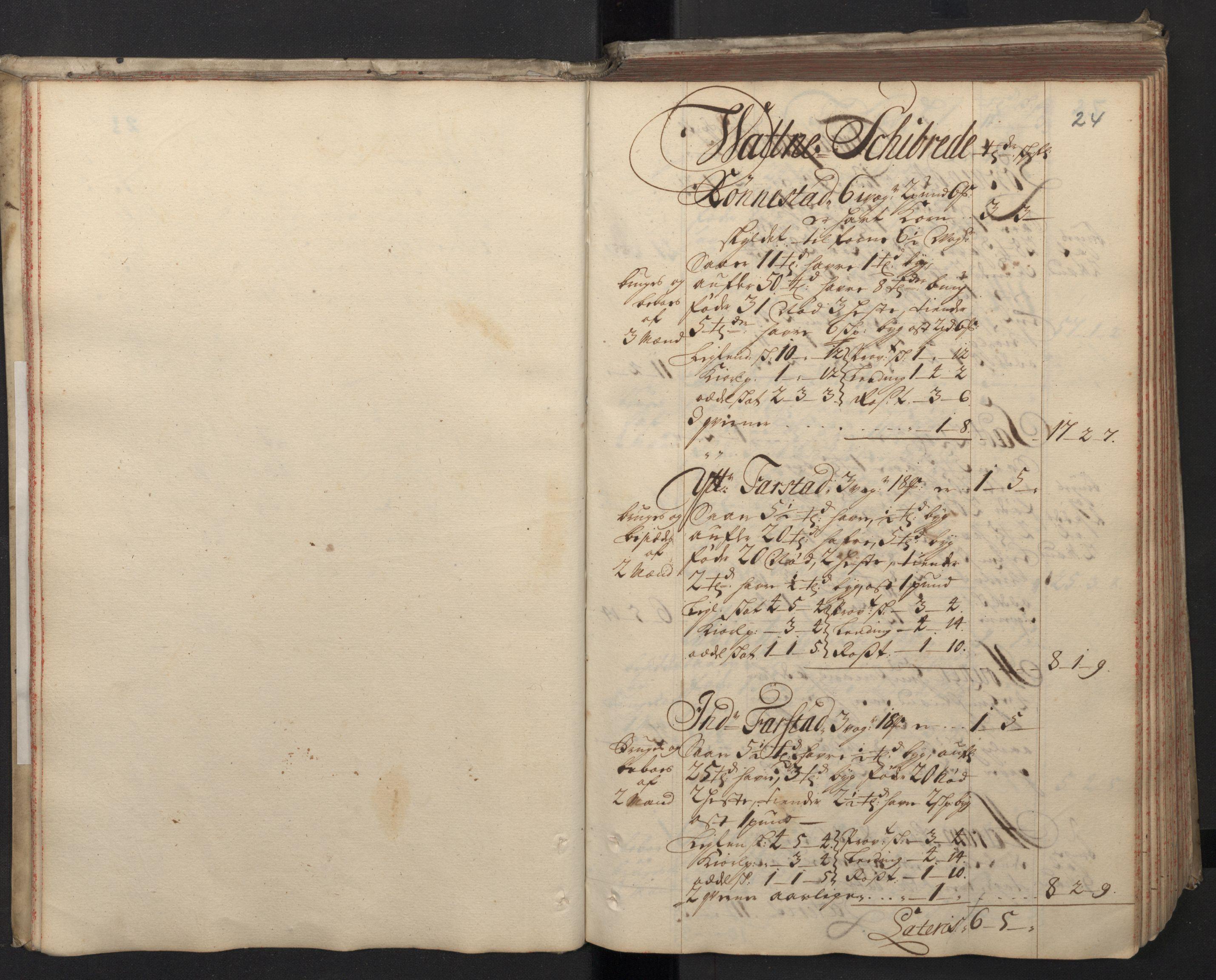 RA, Rentekammeret inntil 1814, Realistisk ordnet avdeling, N/Nb/Nbf/L0148: Sunnmøre, prøvematrikkel, 1714, s. 23b-24a