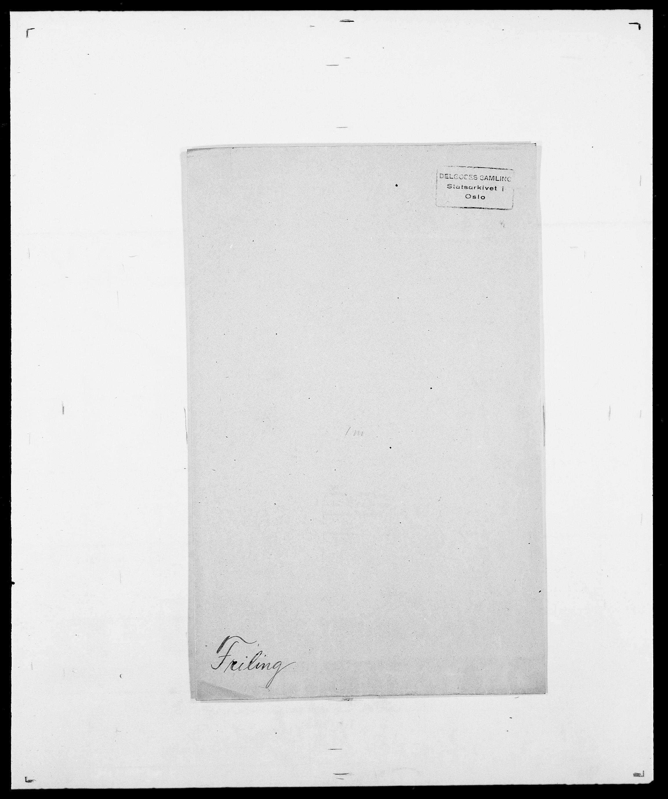 SAO, Delgobe, Charles Antoine - samling, D/Da/L0012: Flor, Floer, Flohr - Fritzner, s. 1017