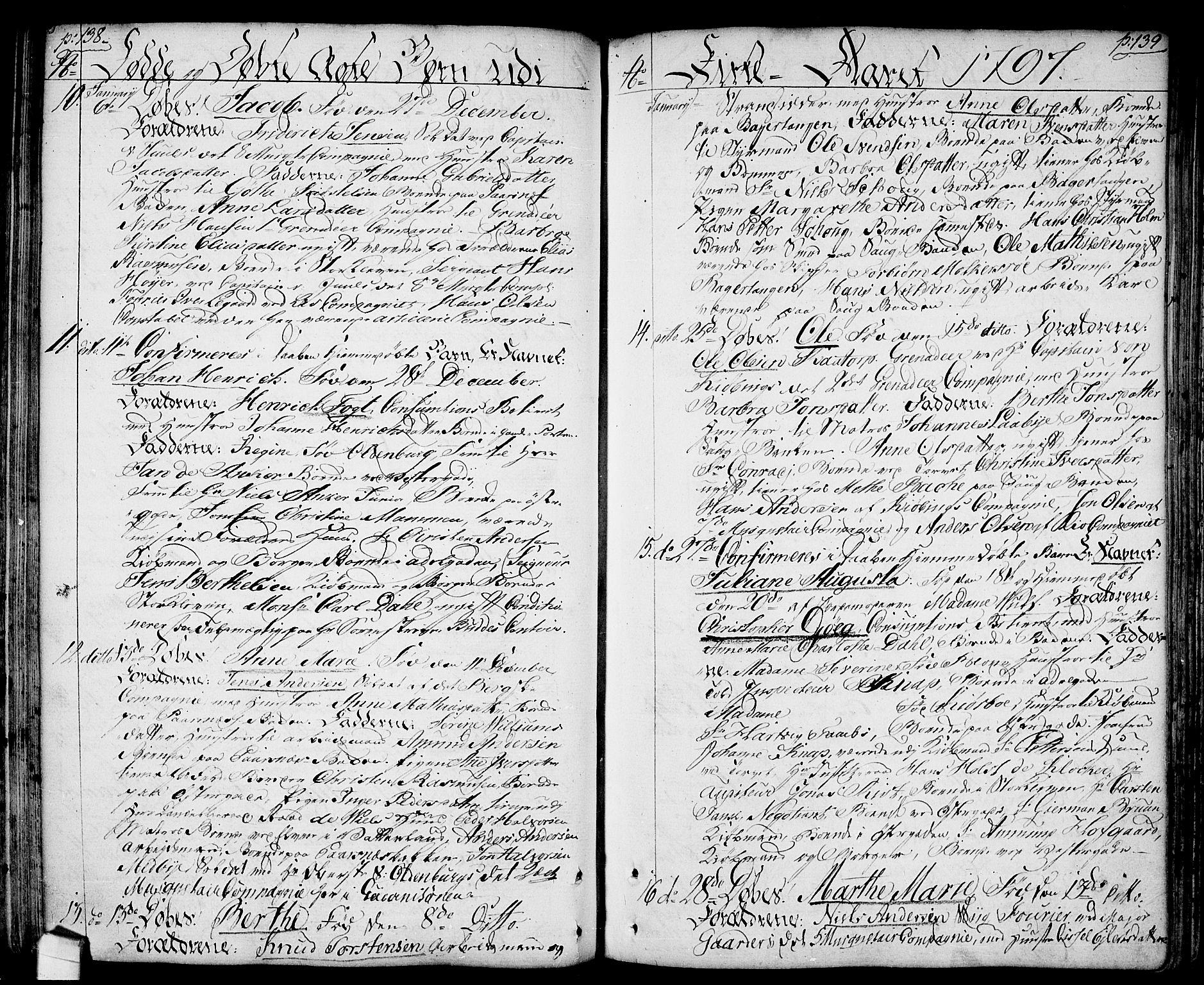 SAO, Halden prestekontor Kirkebøker, F/Fa/L0002: Ministerialbok nr. I 2, 1792-1812, s. 138-139