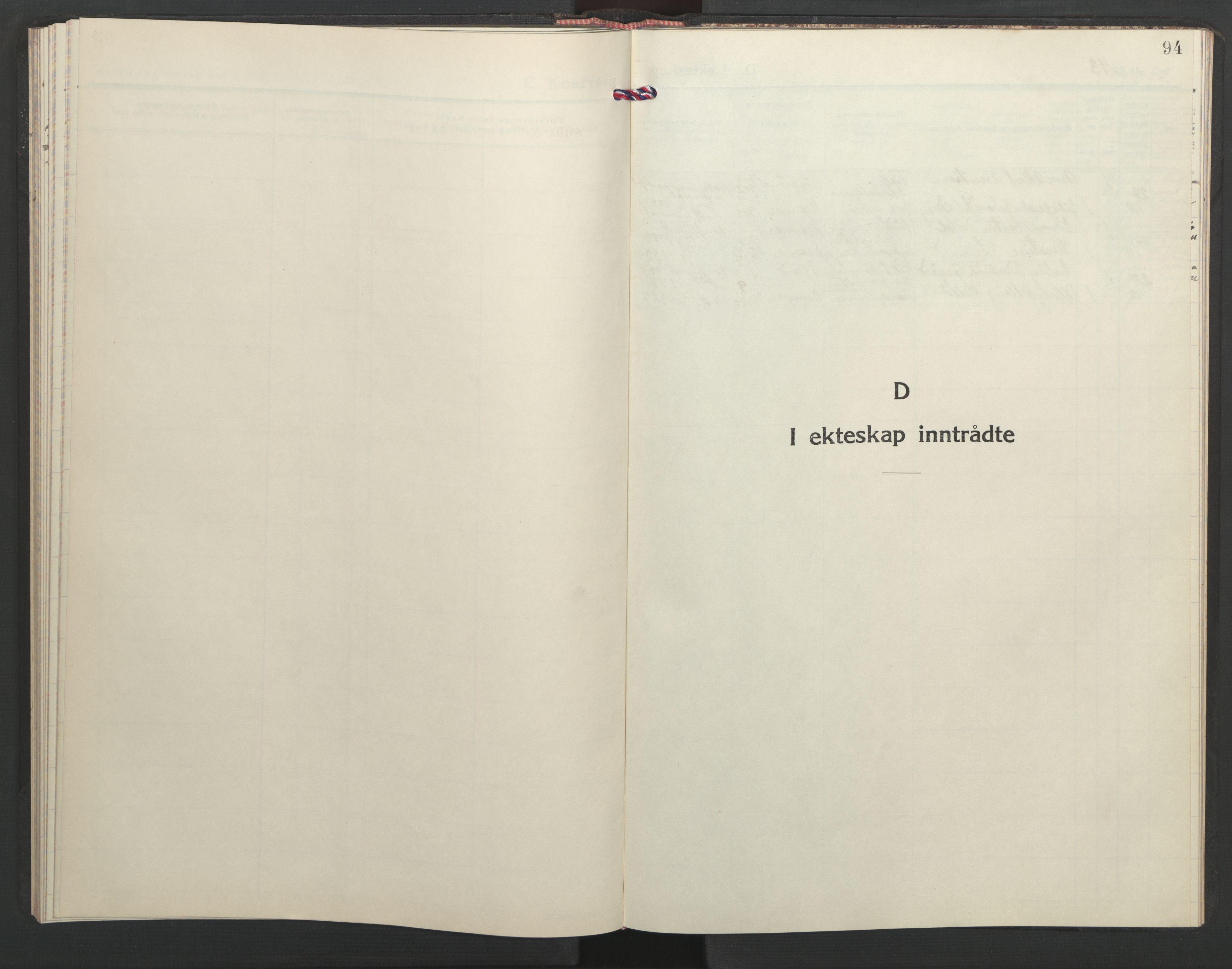 SAT, Ministerialprotokoller, klokkerbøker og fødselsregistre - Sør-Trøndelag, 635/L0556: Klokkerbok nr. 635C04, 1943-1945, s. 94