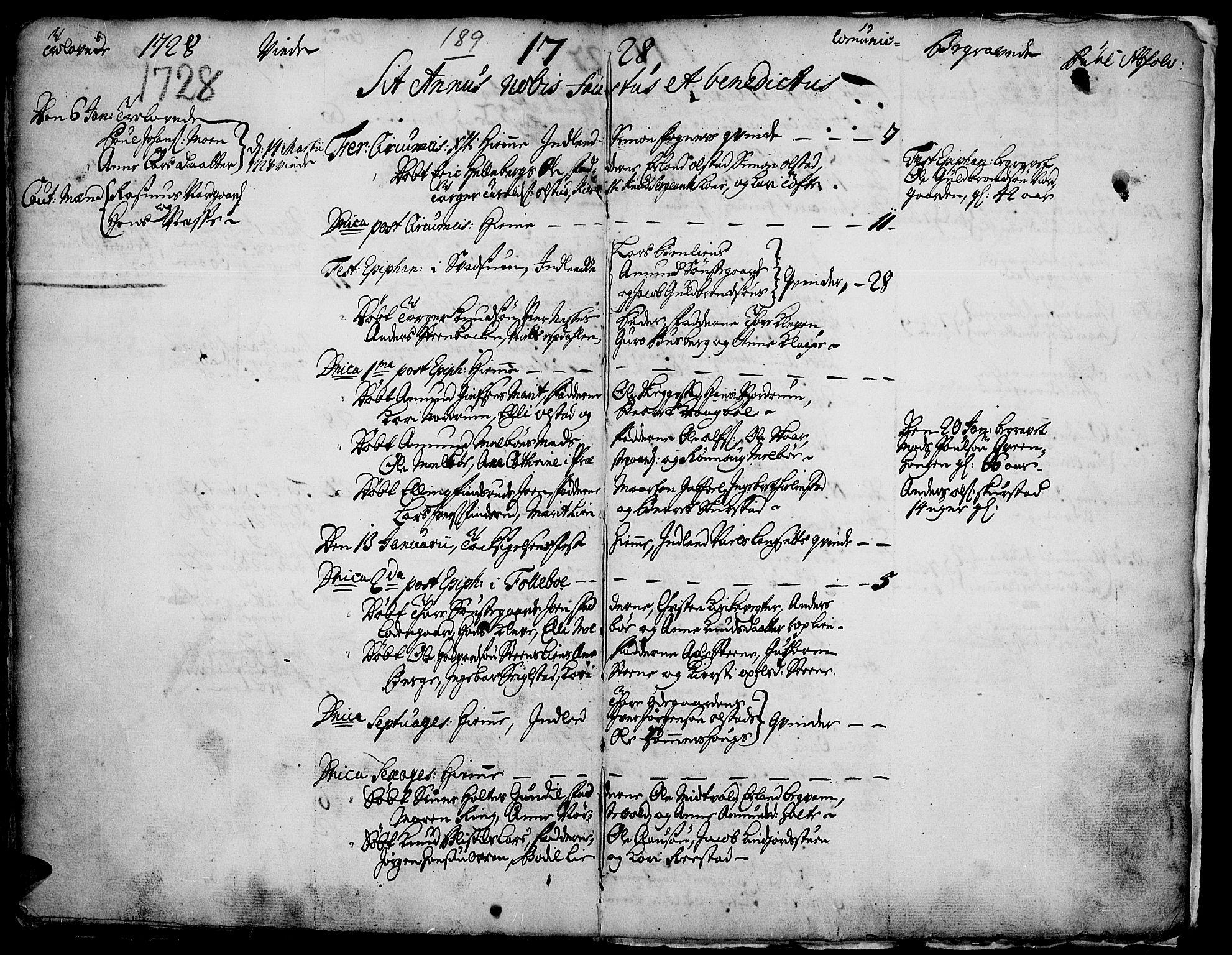 SAH, Gausdal prestekontor, Ministerialbok nr. 1, 1693-1728, s. 189