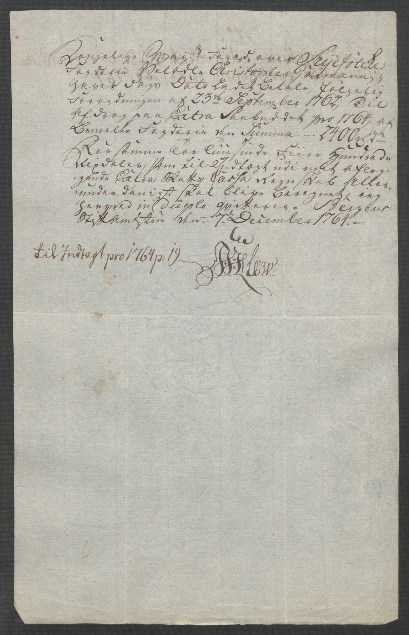 RA, Rentekammeret inntil 1814, Reviderte regnskaper, Fogderegnskap, R47/L2972: Ekstraskatten Ryfylke, 1762-1780, s. 44