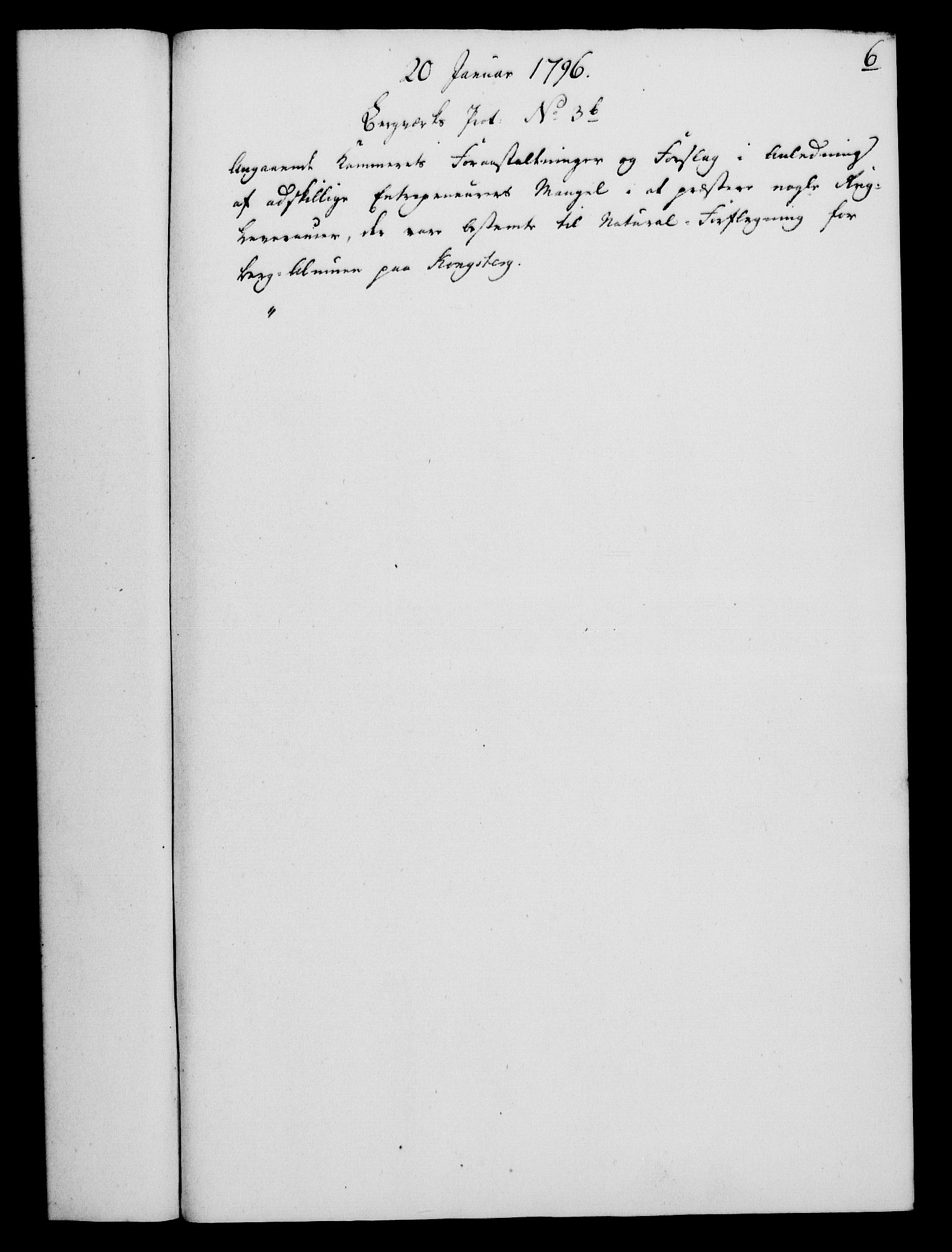 RA, Rentekammeret, Kammerkanselliet, G/Gf/Gfa/L0078: Norsk relasjons- og resolusjonsprotokoll (merket RK 52.78), 1796, s. 45