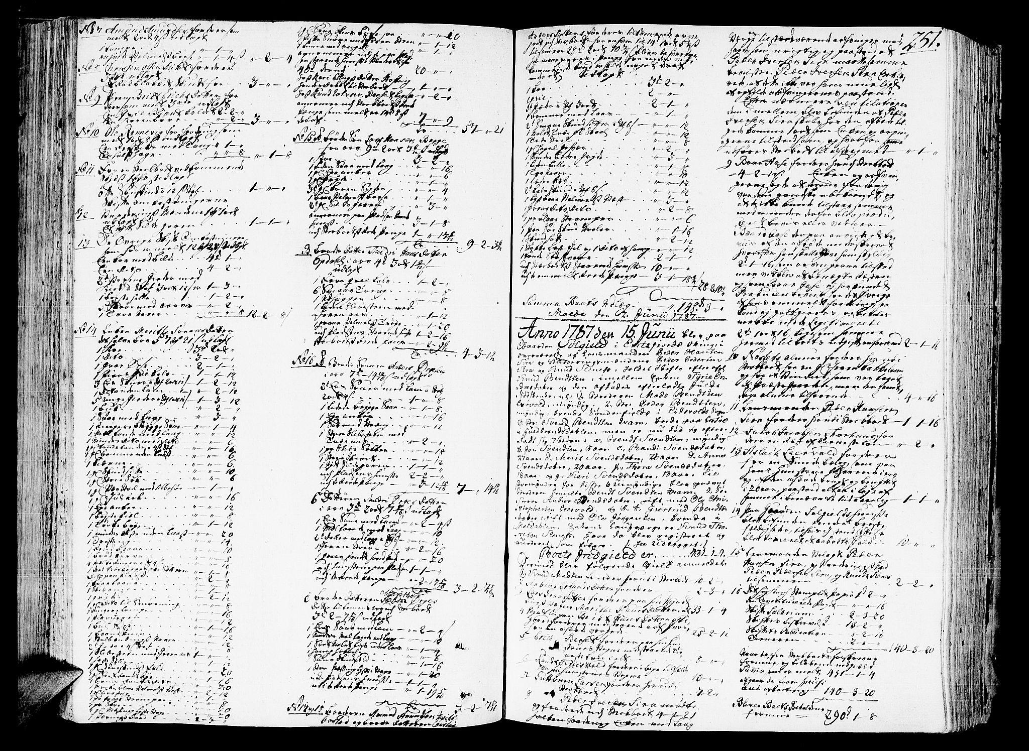 SAT, Romsdal sorenskriveri, 3/3A/L0011: Skifteprotokoll, 1782-1789, s. 250b-251a