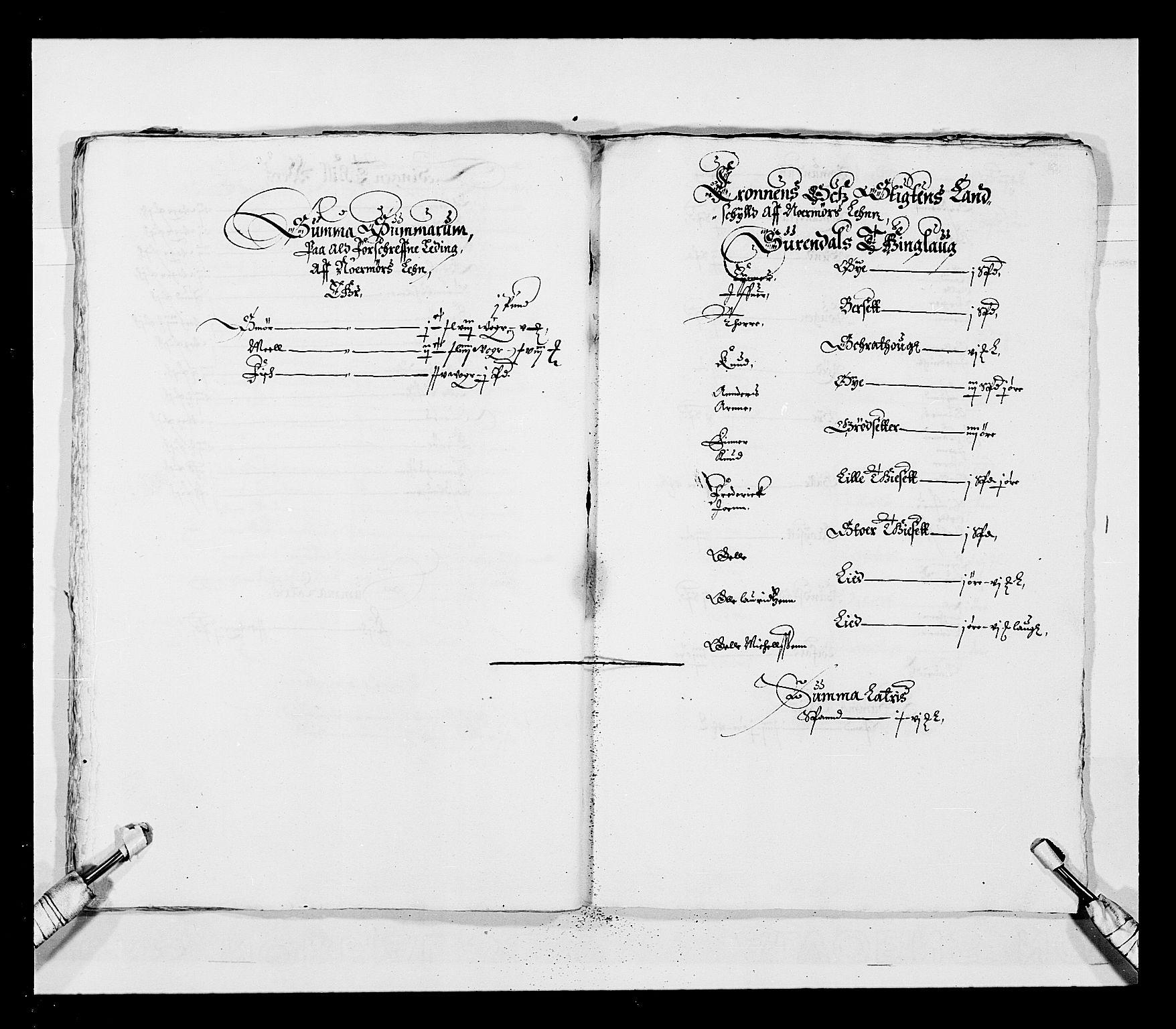 RA, Stattholderembetet 1572-1771, Ek/L0028: Jordebøker 1633-1658:, 1645-1646, s. 29