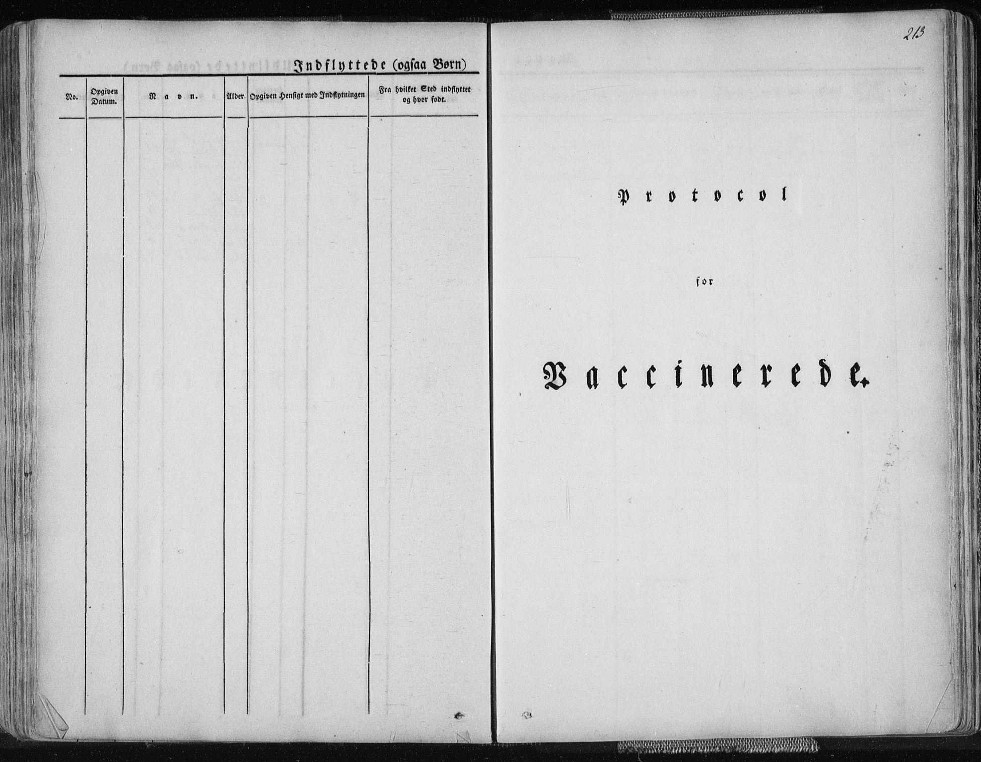 SAT, Ministerialprotokoller, klokkerbøker og fødselsregistre - Nordland, 827/L0390: Ministerialbok nr. 827A02, 1826-1841, s. 213